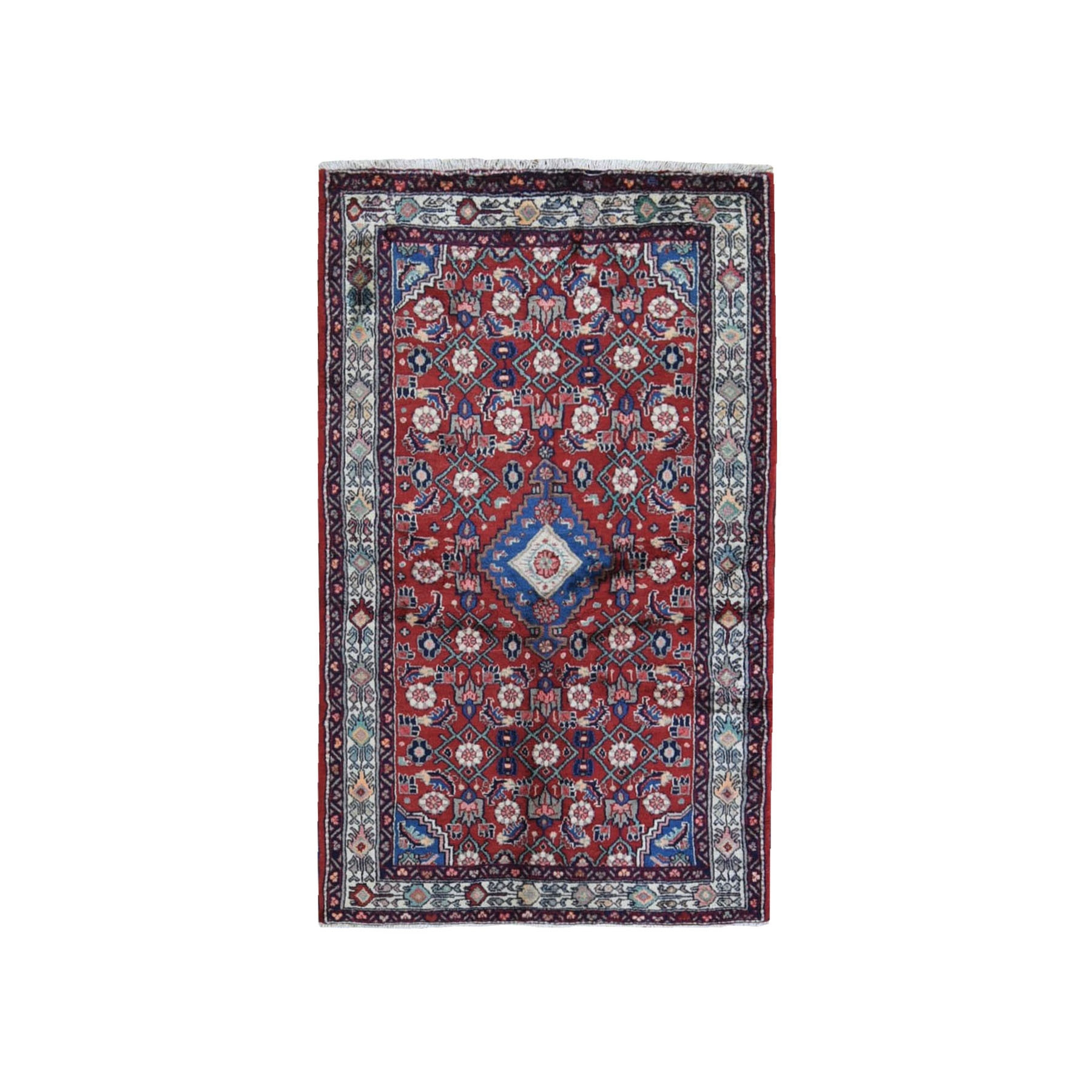 Classic Persian Collection Hand Knotted Red Rug No: 1119930