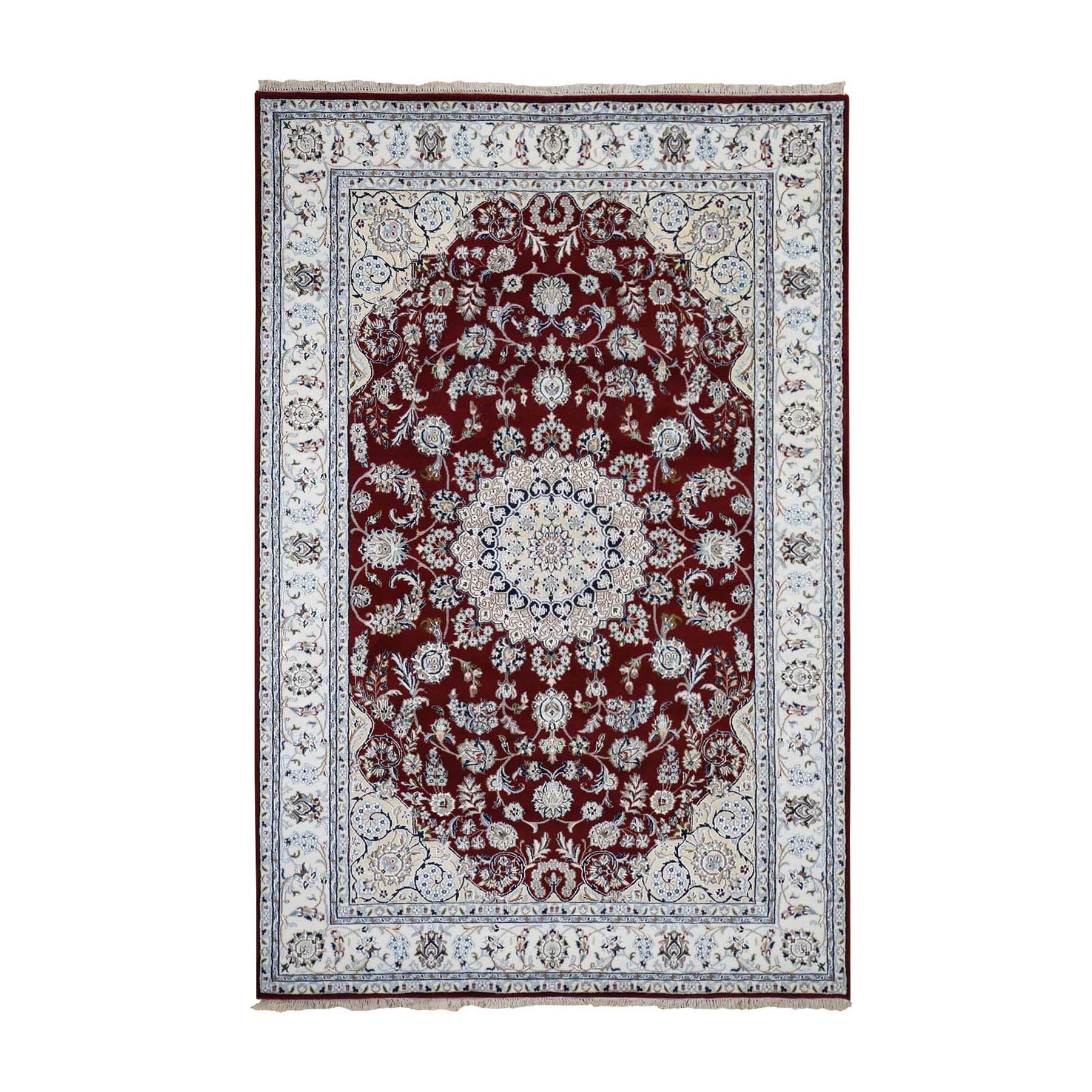 Pirniakan Collection Hand Knotted Red Rug No: 1119978