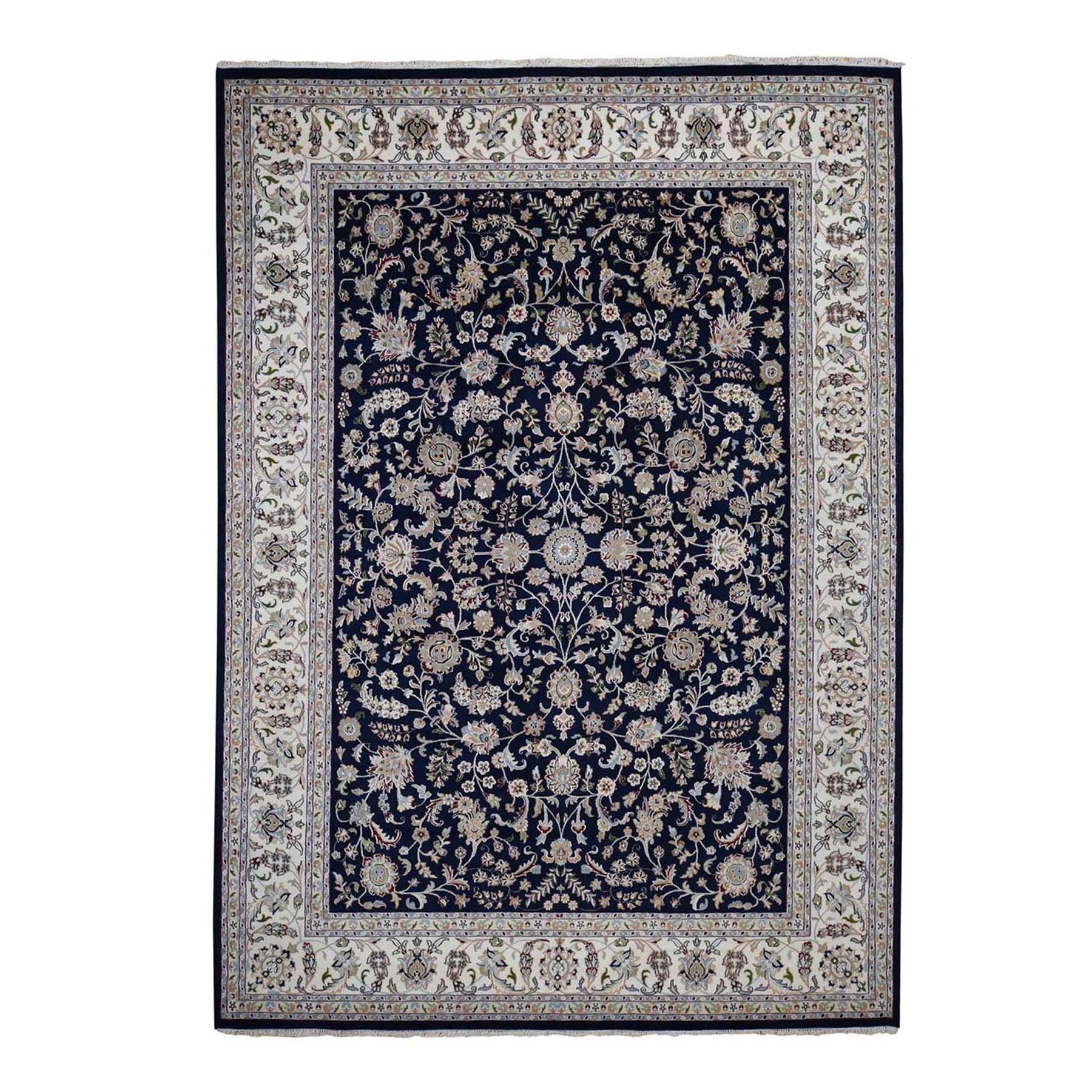 Pirniakan Collection Hand Knotted Blue Rug No: 1119982