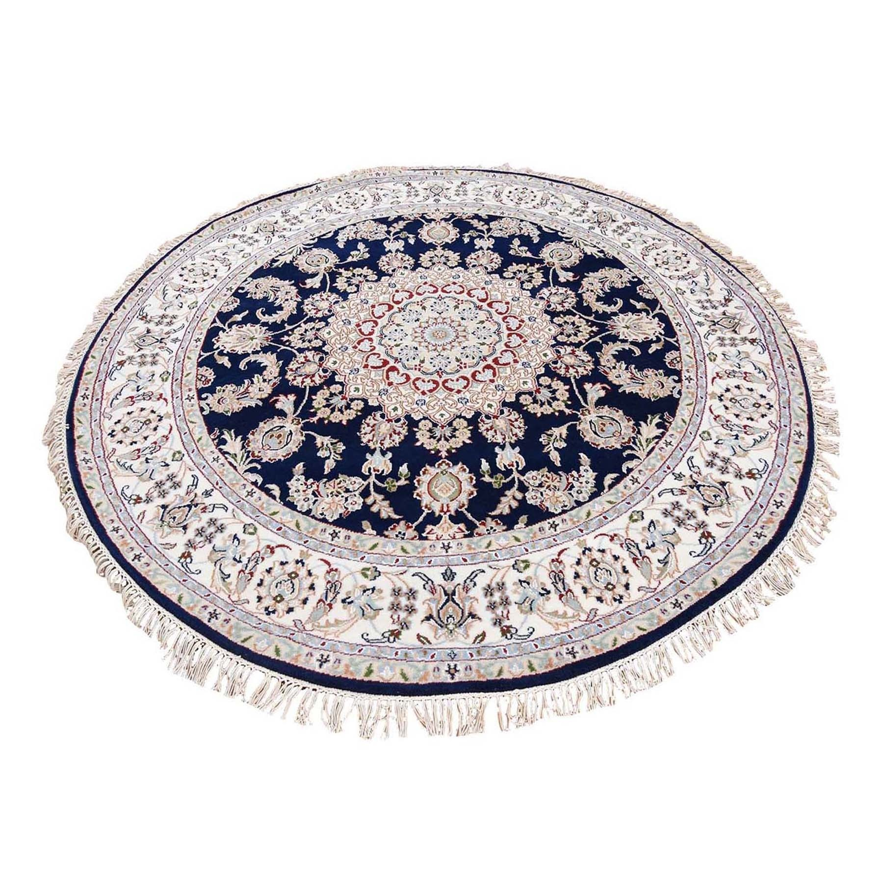 Pirniakan Collection Hand Knotted Blue Rug No: 1119984