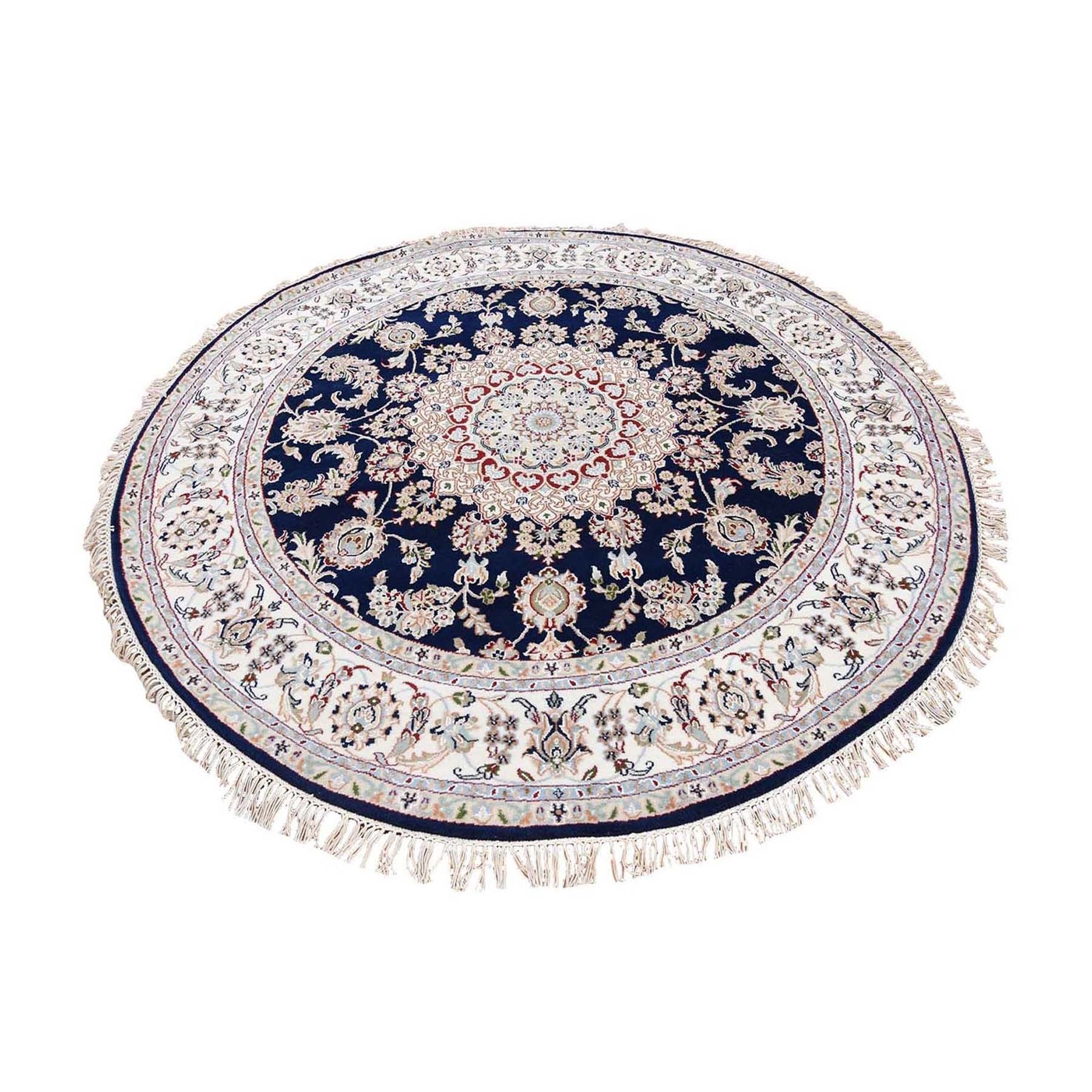 Pirniakan Collection Hand Knotted Blue Rug No: 1119986