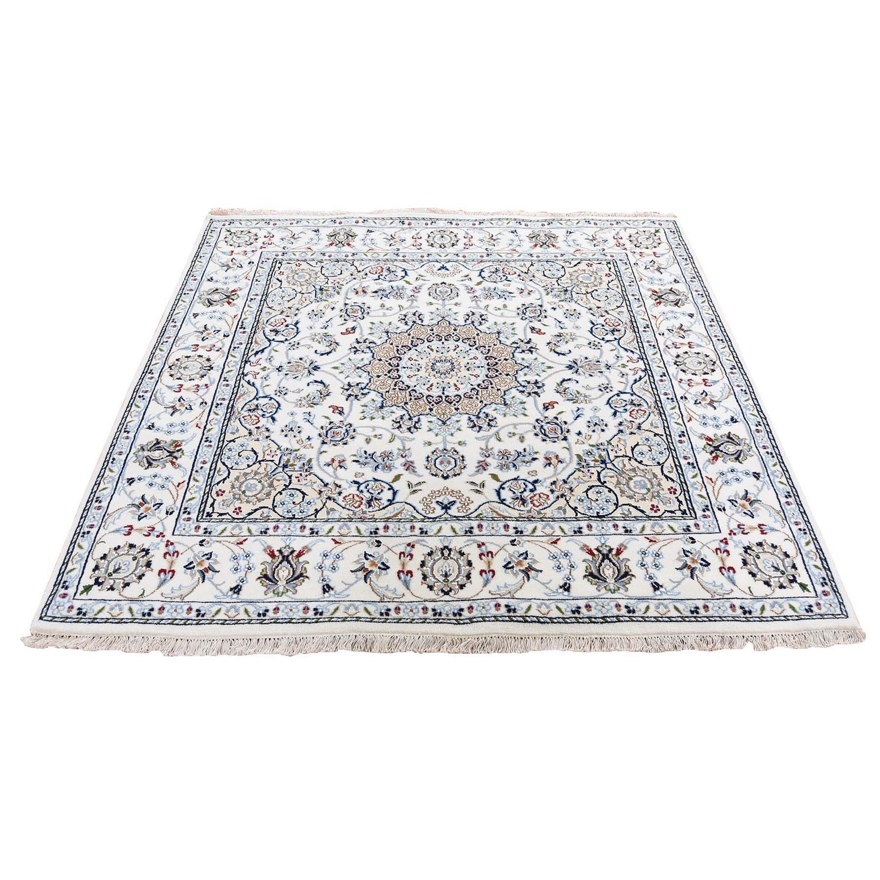 Pirniakan Collection Hand Knotted Ivory Rug No: 1119994