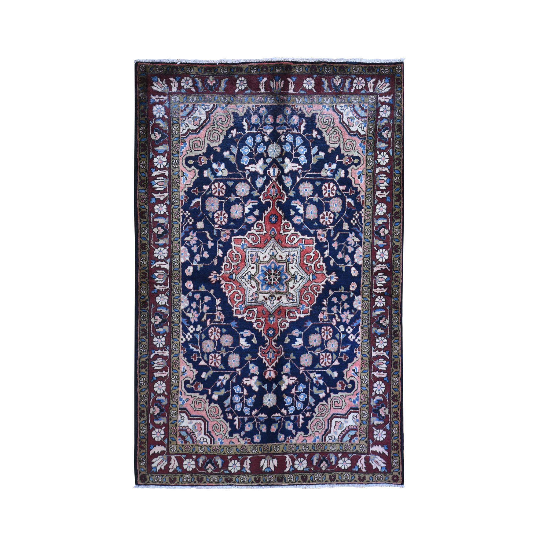 Classic Persian Collection Hand Knotted Blue Rug No: 1132008
