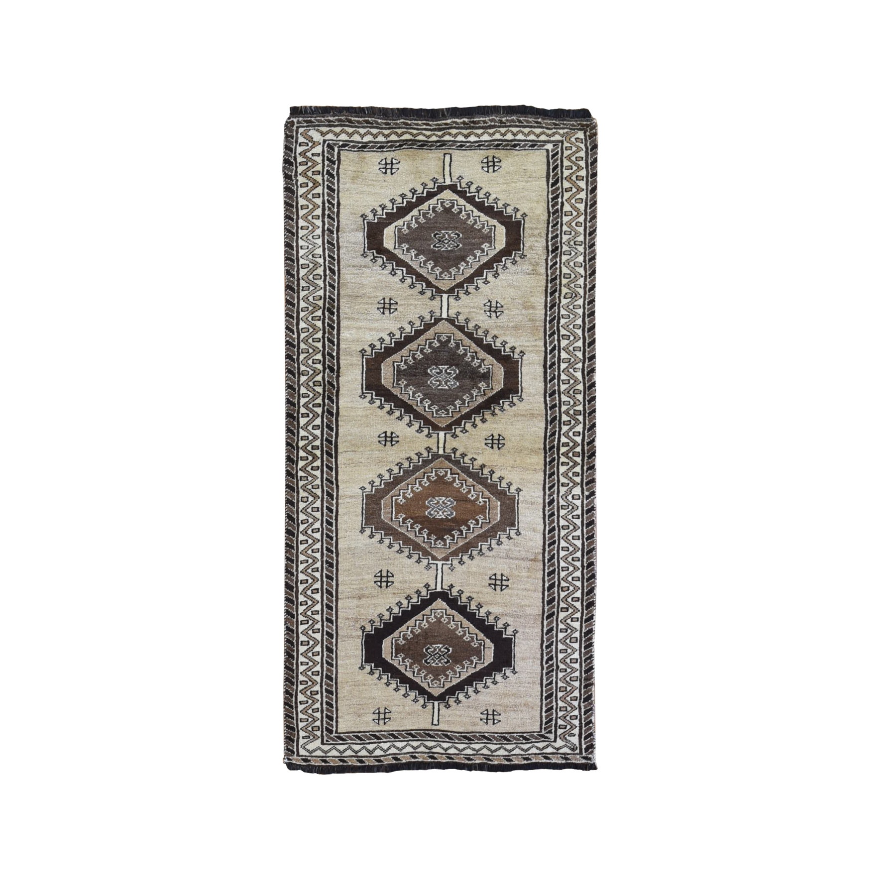 Classic Persian Collection Hand Knotted Ivory Rug No: 1132032