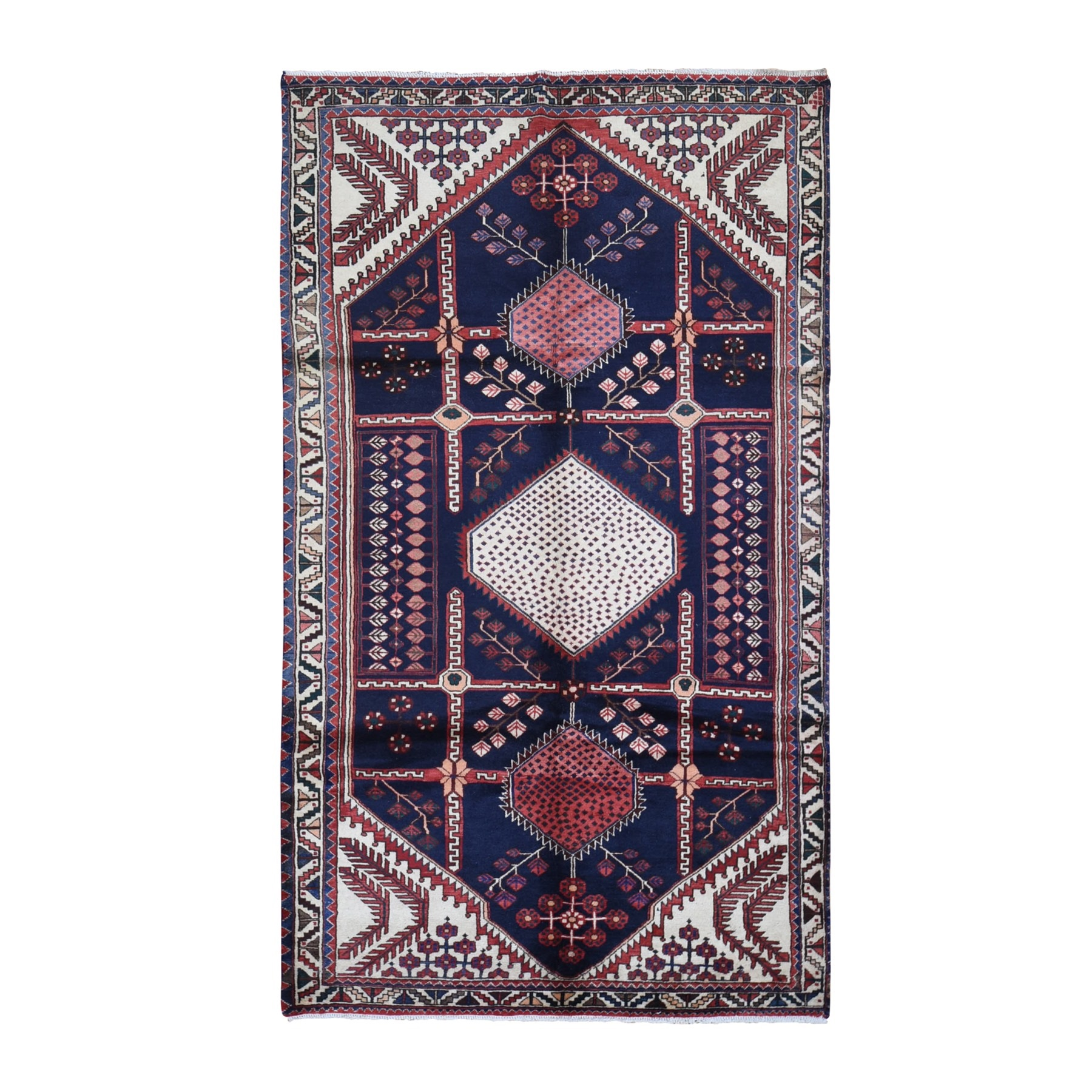 Classic Persian Collection Hand Knotted Blue Rug No: 1132062