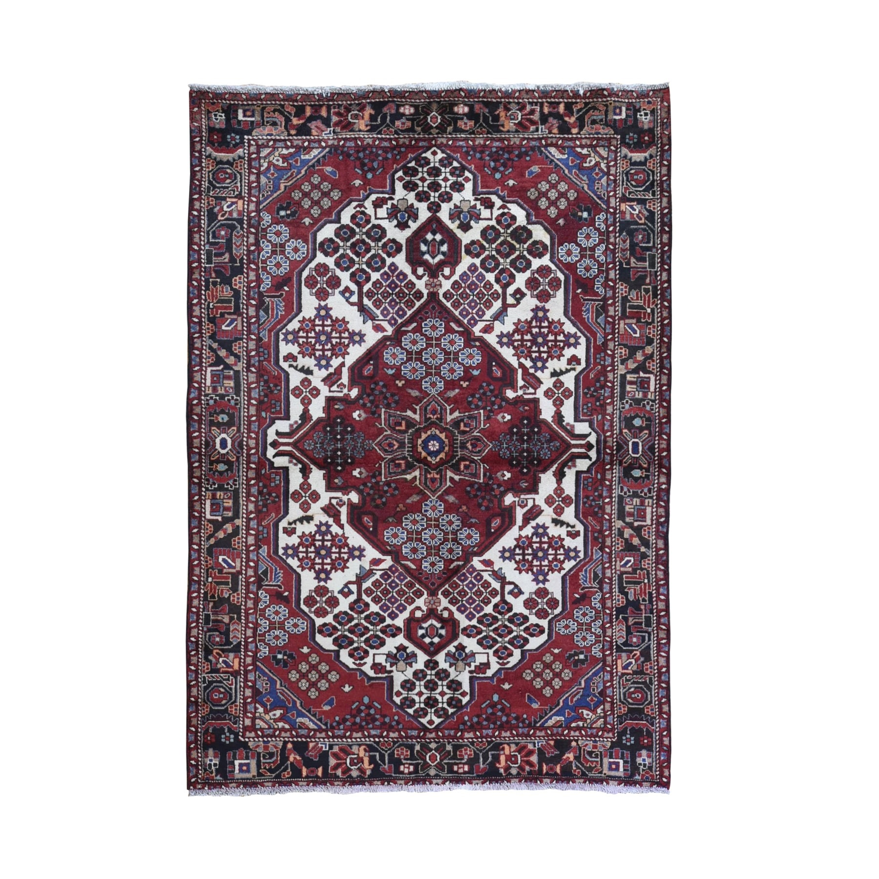 Classic Persian Collection Hand Knotted Ivory Rug No: 1132064