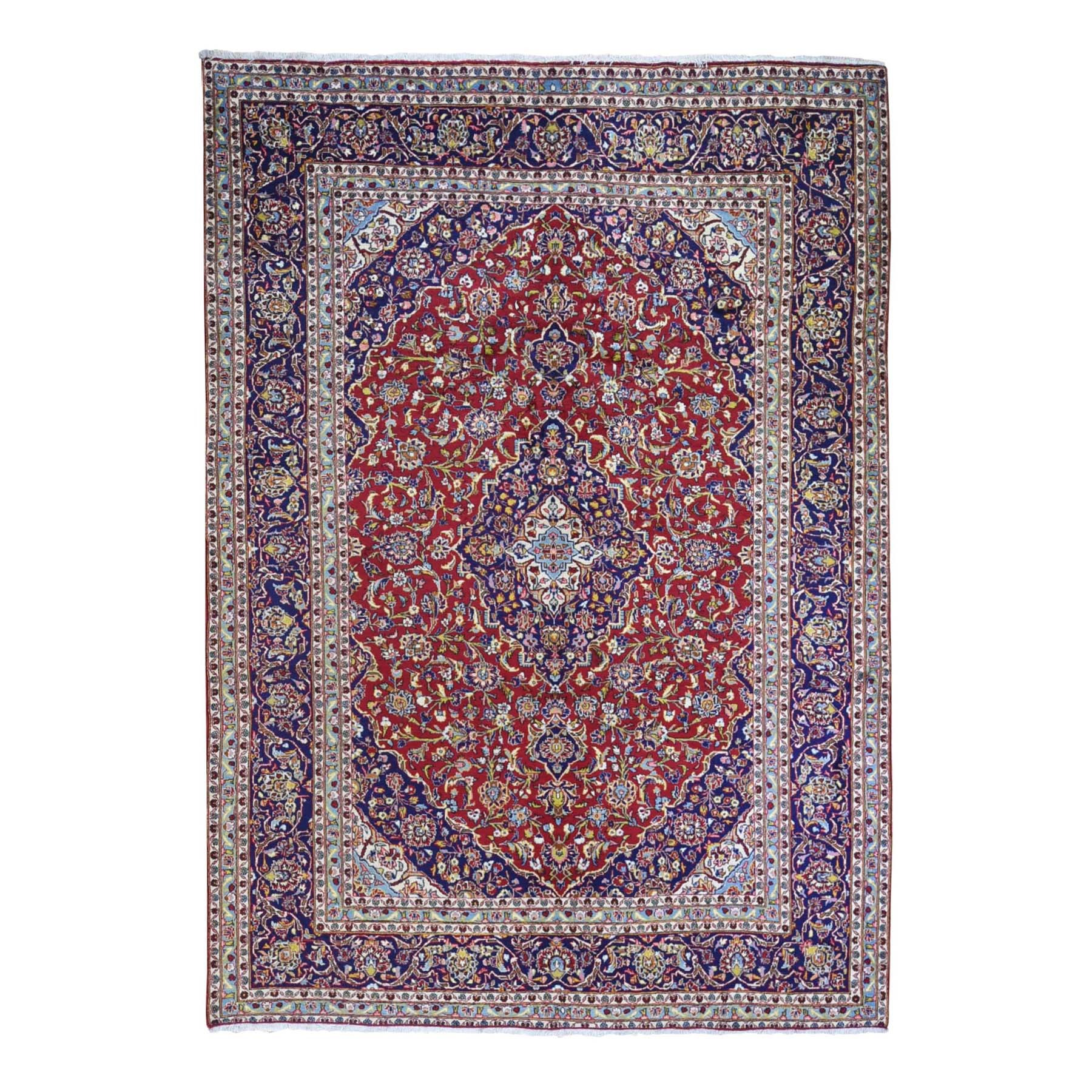 Classic Persian Collection Hand Knotted Red Rug No: 1132076