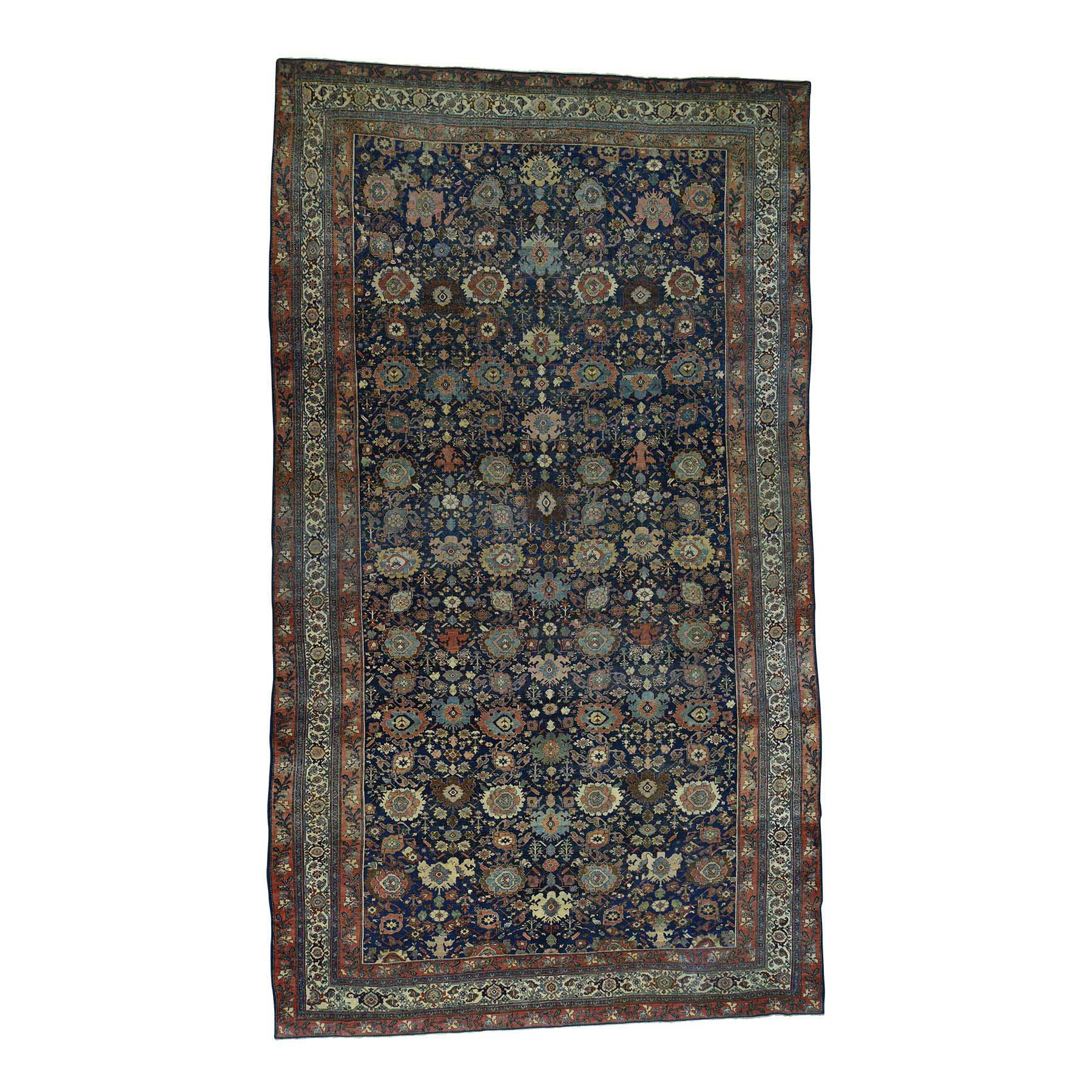 Antique Collection Hand Knotted Blue Rug No: 0168838