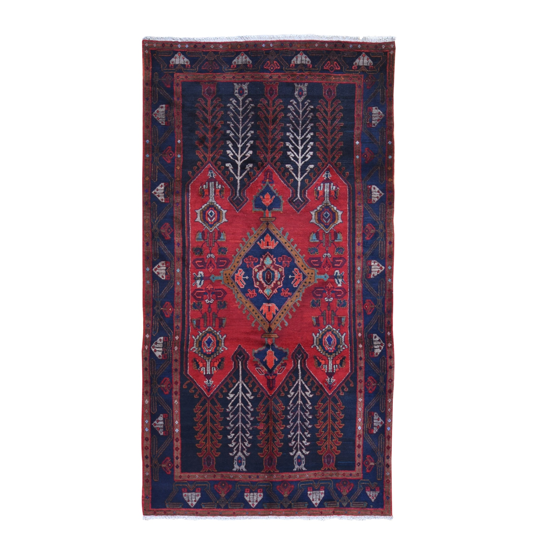 Classic Persian Collection Hand Knotted Black Rug No: 1132084