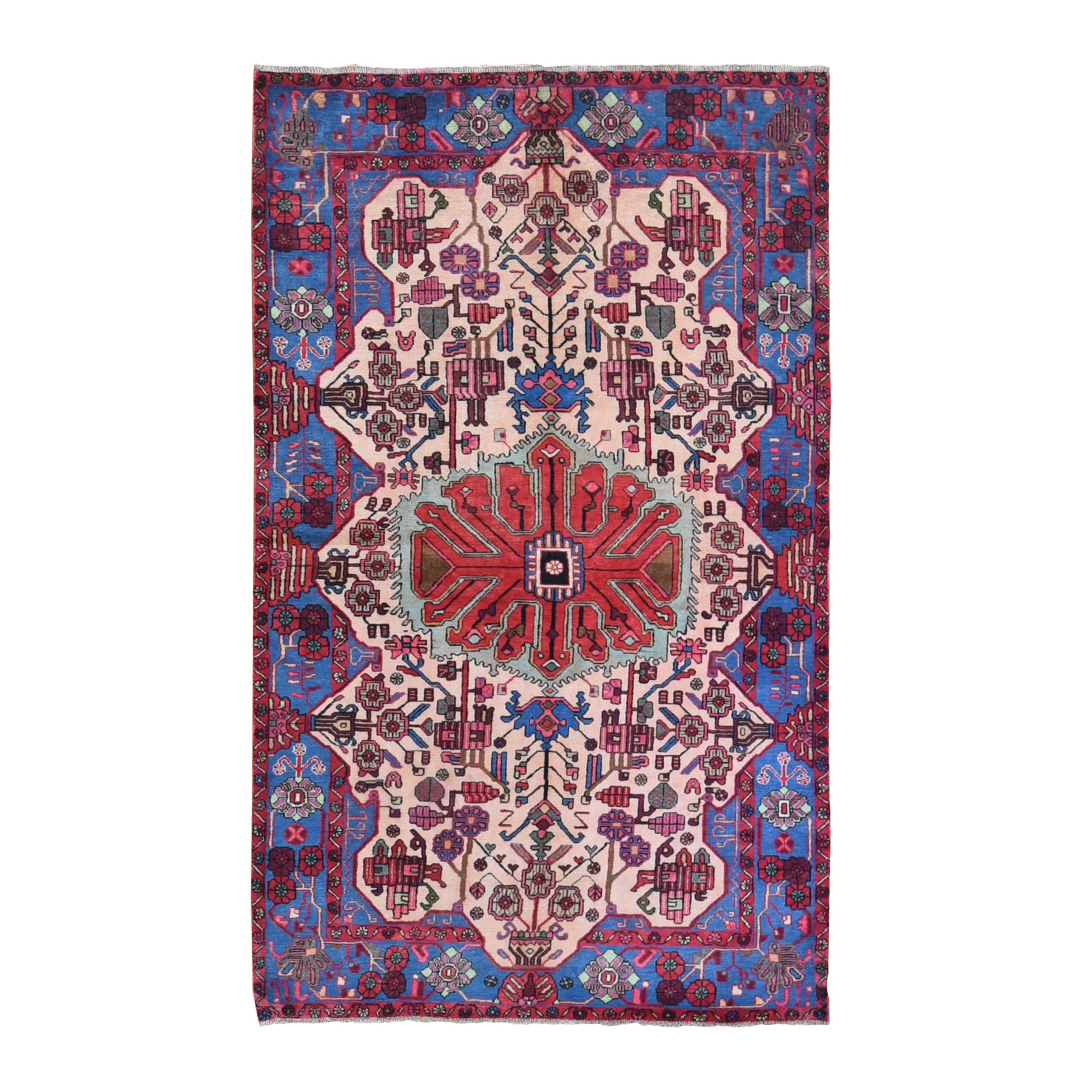 Classic Persian Collection Hand Knotted Ivory Rug No: 1132086