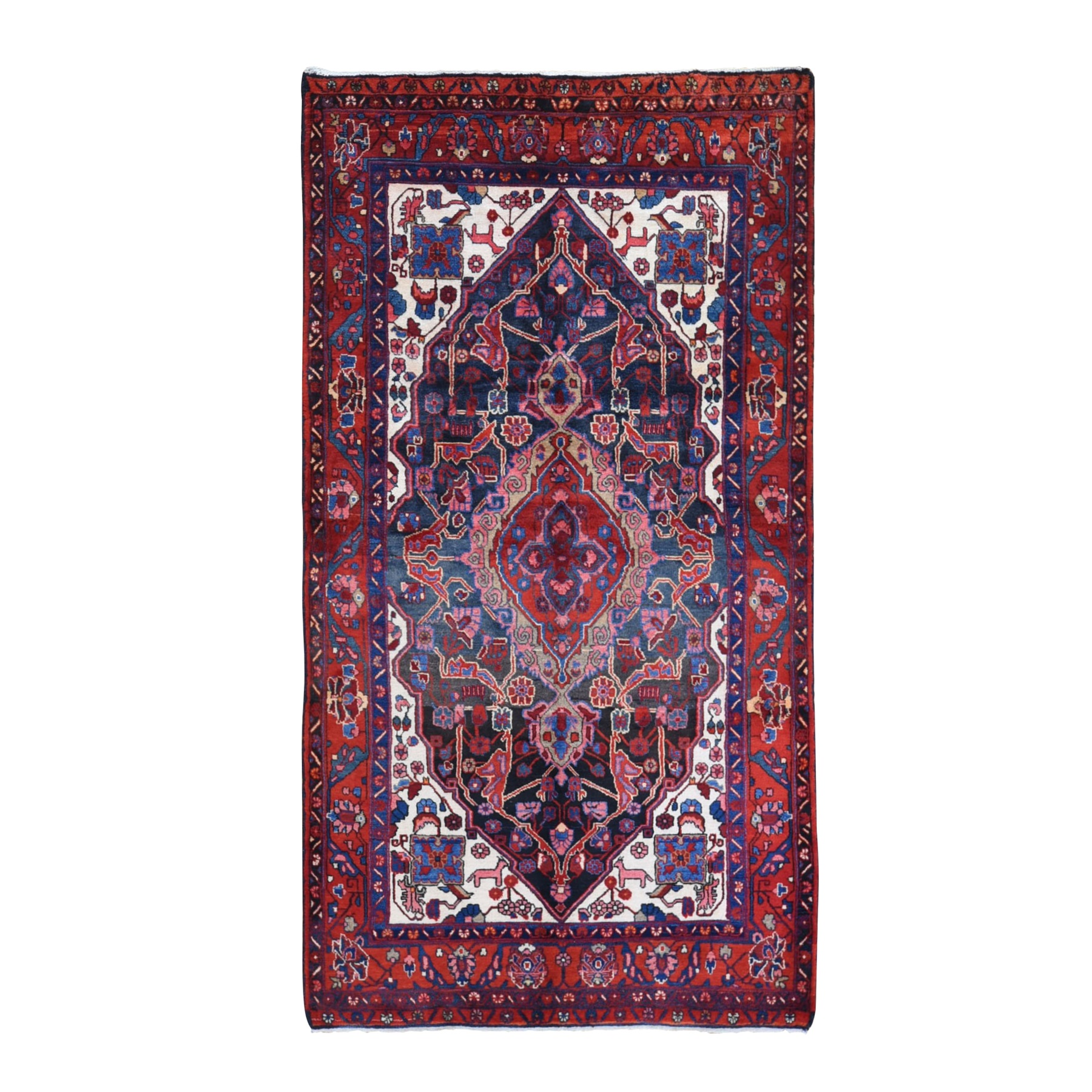 Classic Persian Collection Hand Knotted Black Rug No: 1132094