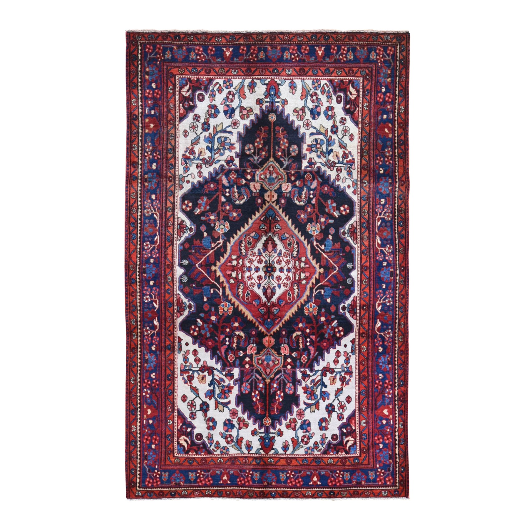 Classic Persian Collection Hand Knotted Ivory Rug No: 1132098