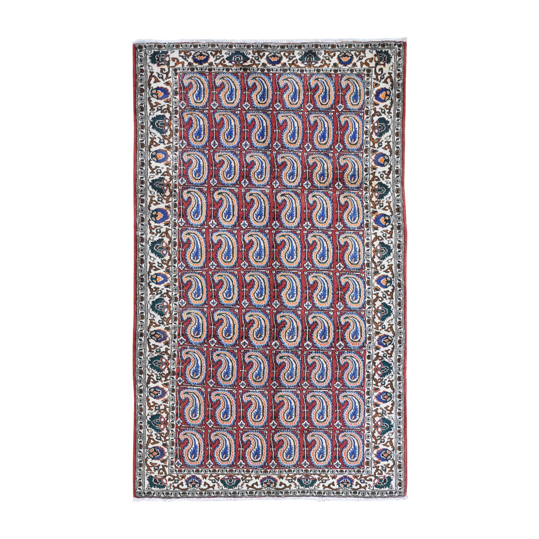 Classic Persian Collection Hand Knotted Red Rug No: 1132100