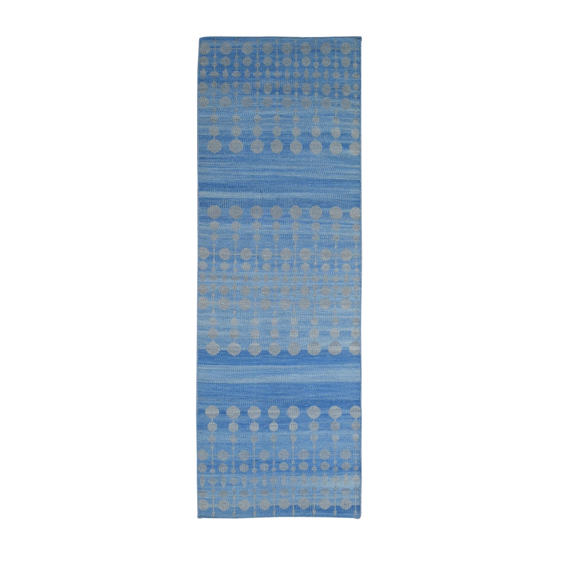 Fine Kilim Collection Hand Woven Blue Rug No: 1132160