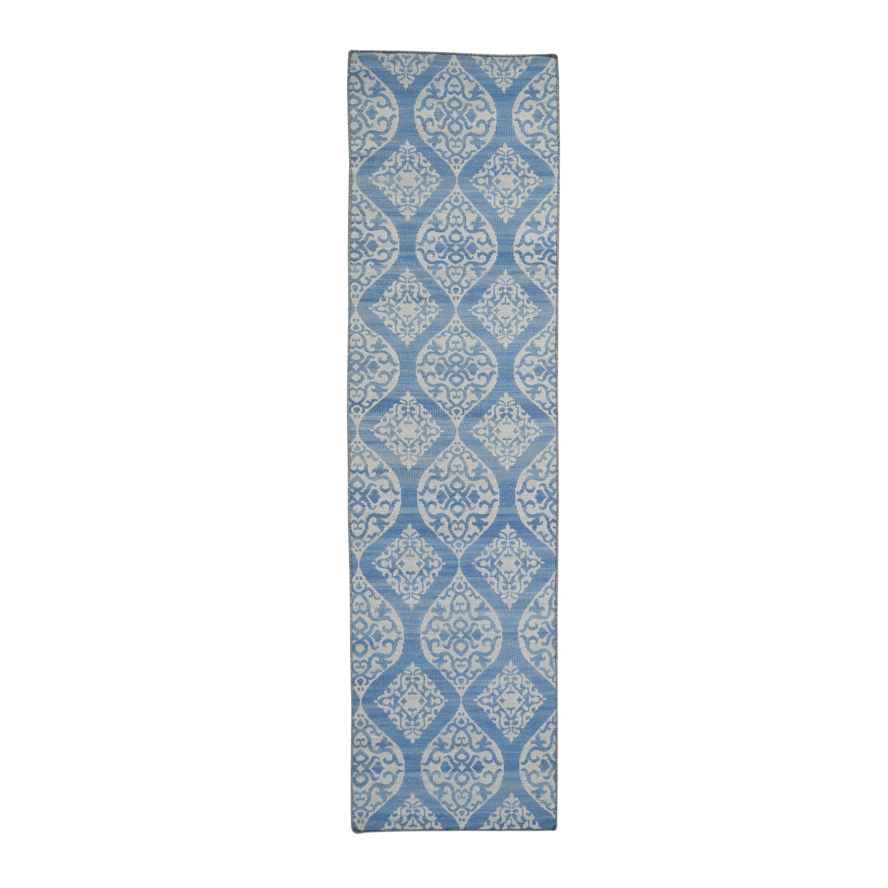 Fine Kilim Collection Hand Woven Blue Rug No: 1132162