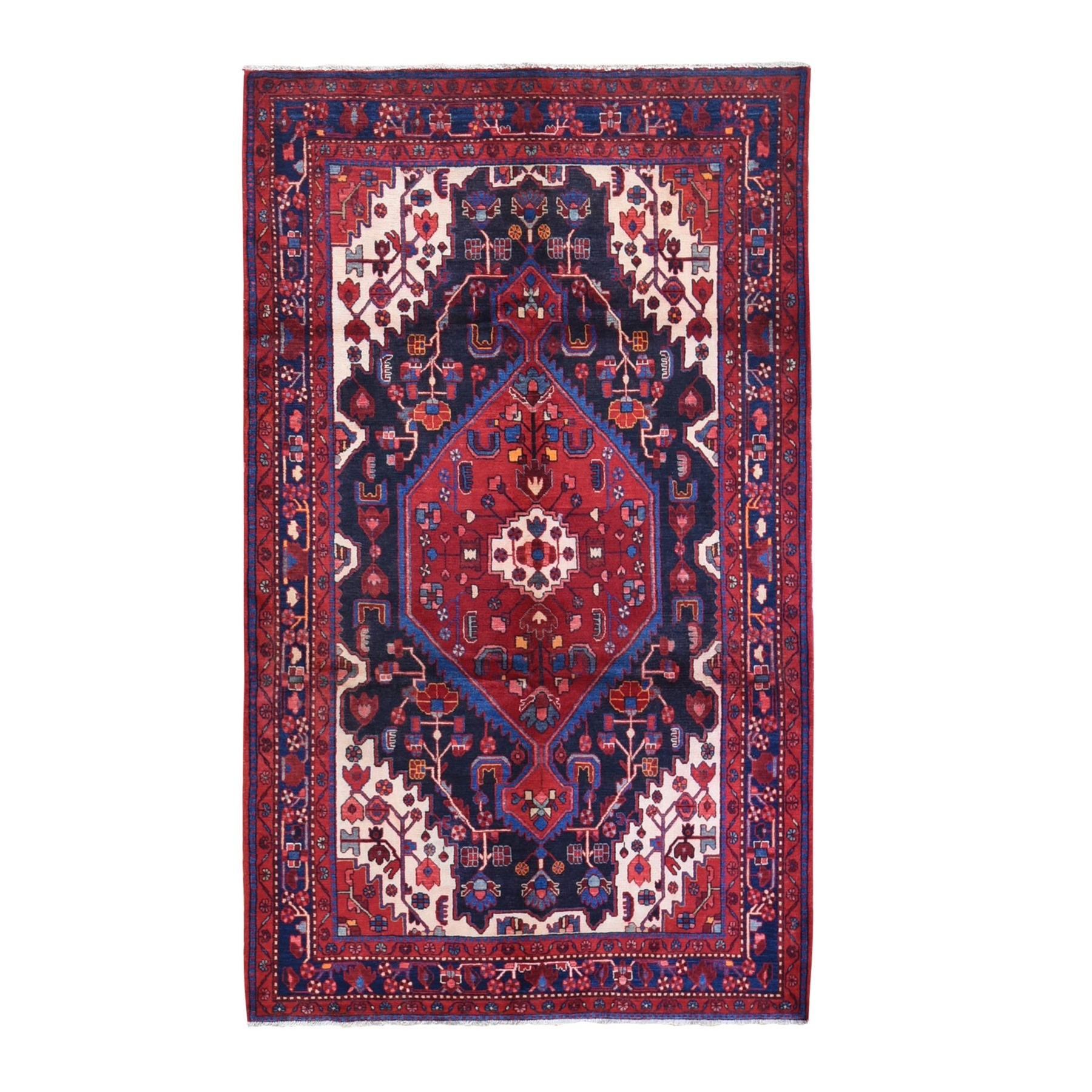 Classic Persian Collection Hand Knotted Blue Rug No: 1132104