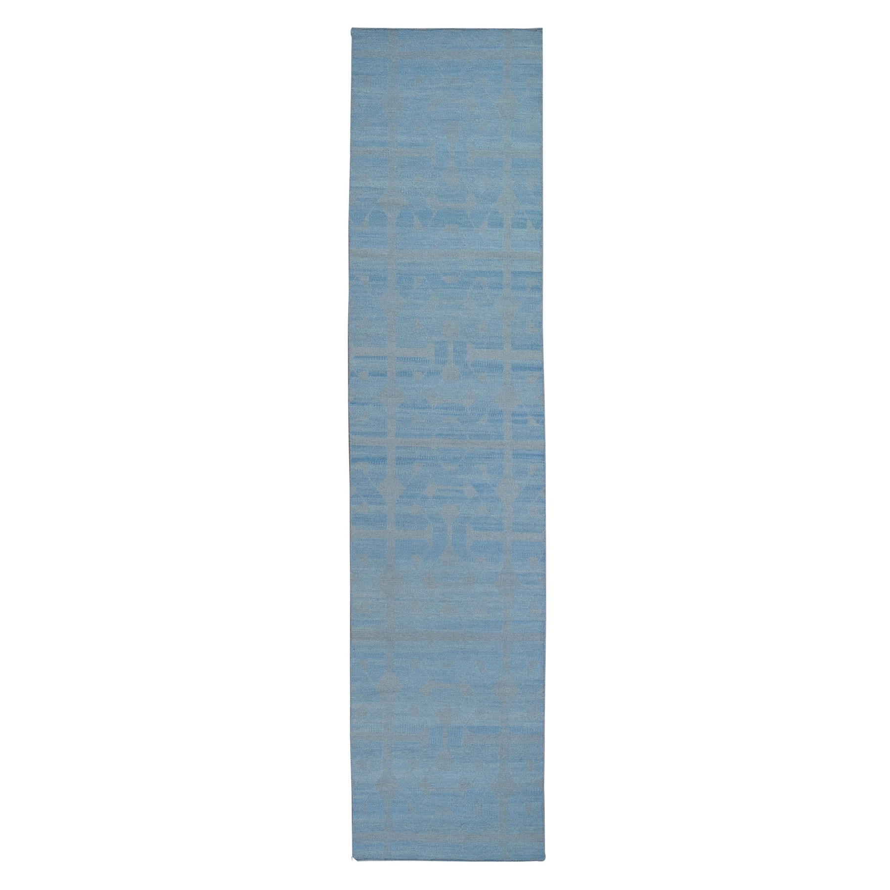 Fine Kilim Collection Hand Woven Blue Rug No: 1132172