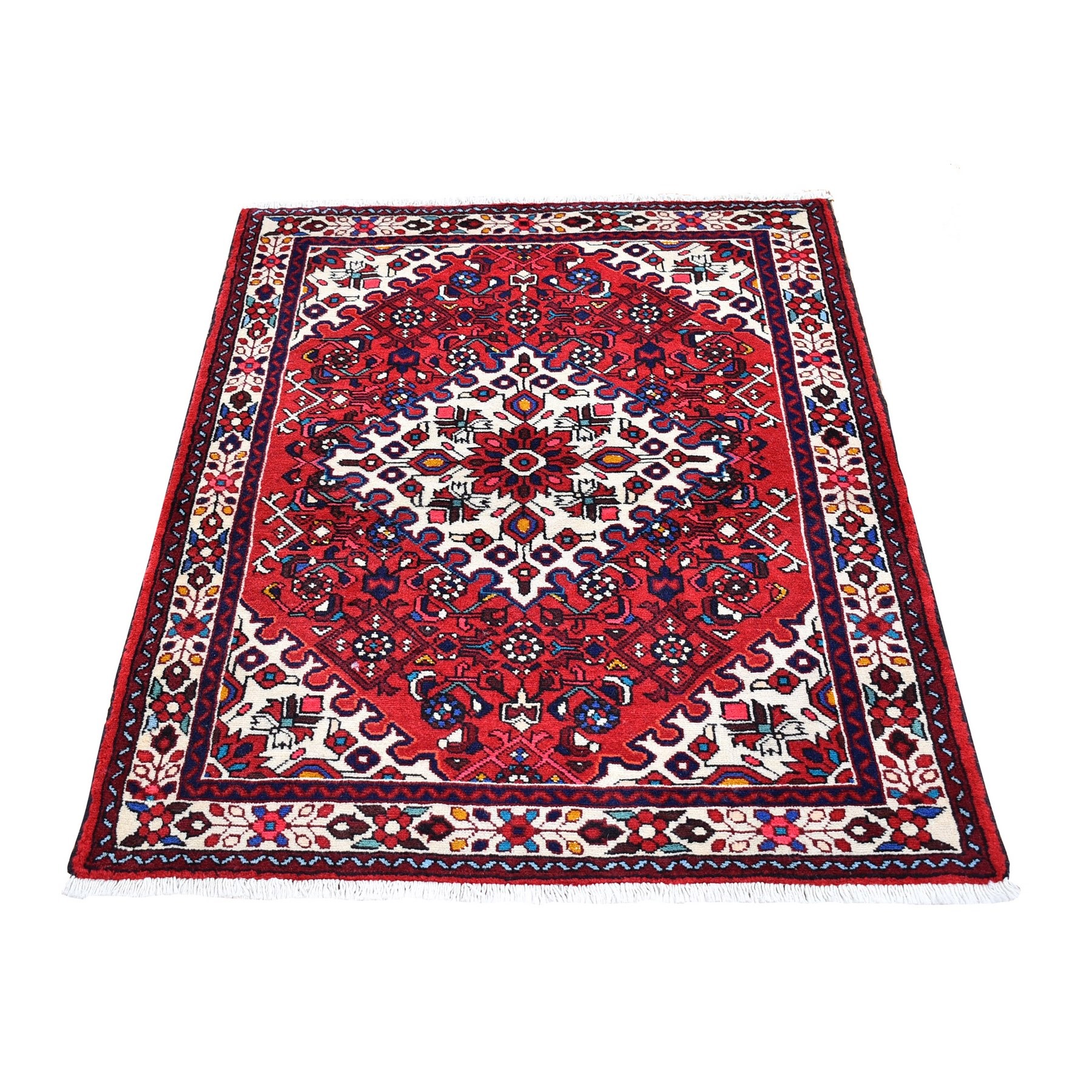 Classic Persian Collection Hand Knotted Red Rug No: 1132144