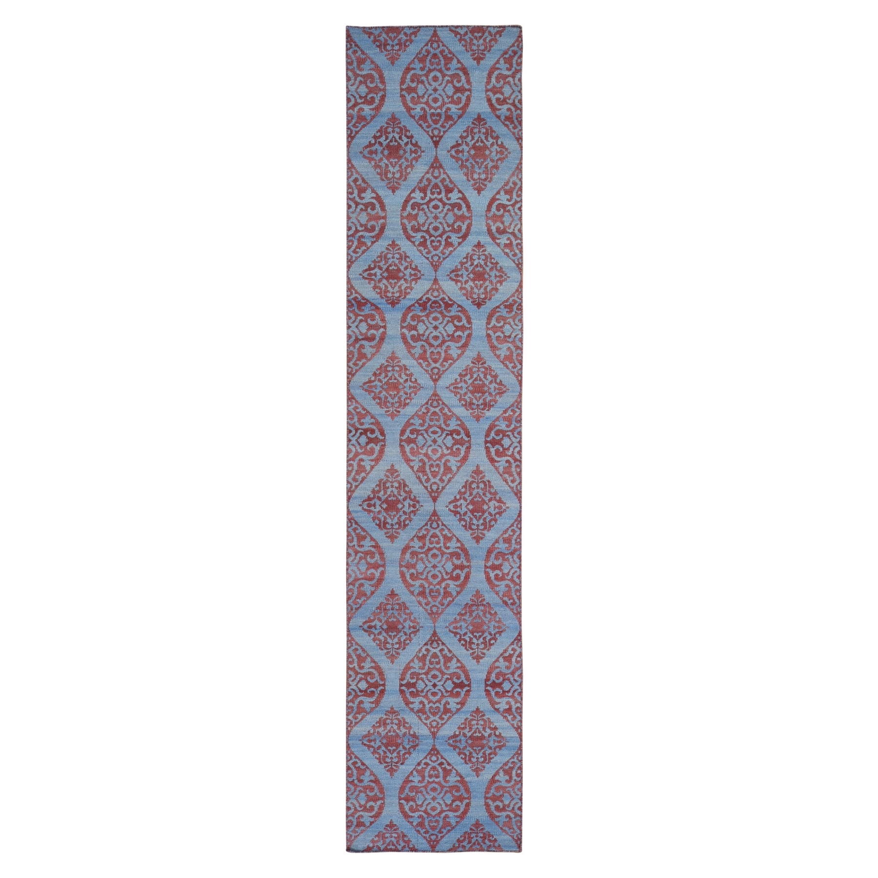 Fine Kilim Collection Hand Woven Blue Rug No: 1132176