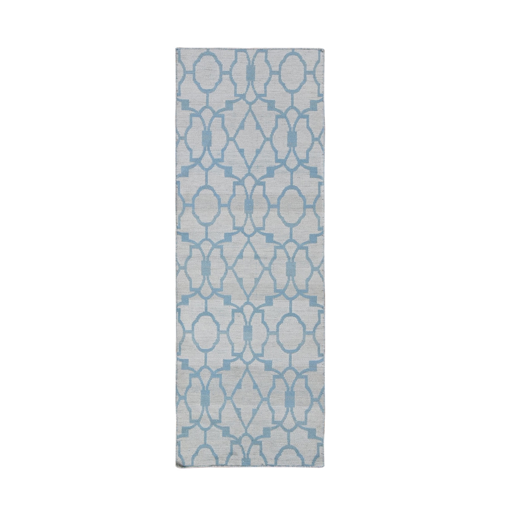 Fine Kilim Collection Hand Knotted Blue Rug No: 1132188