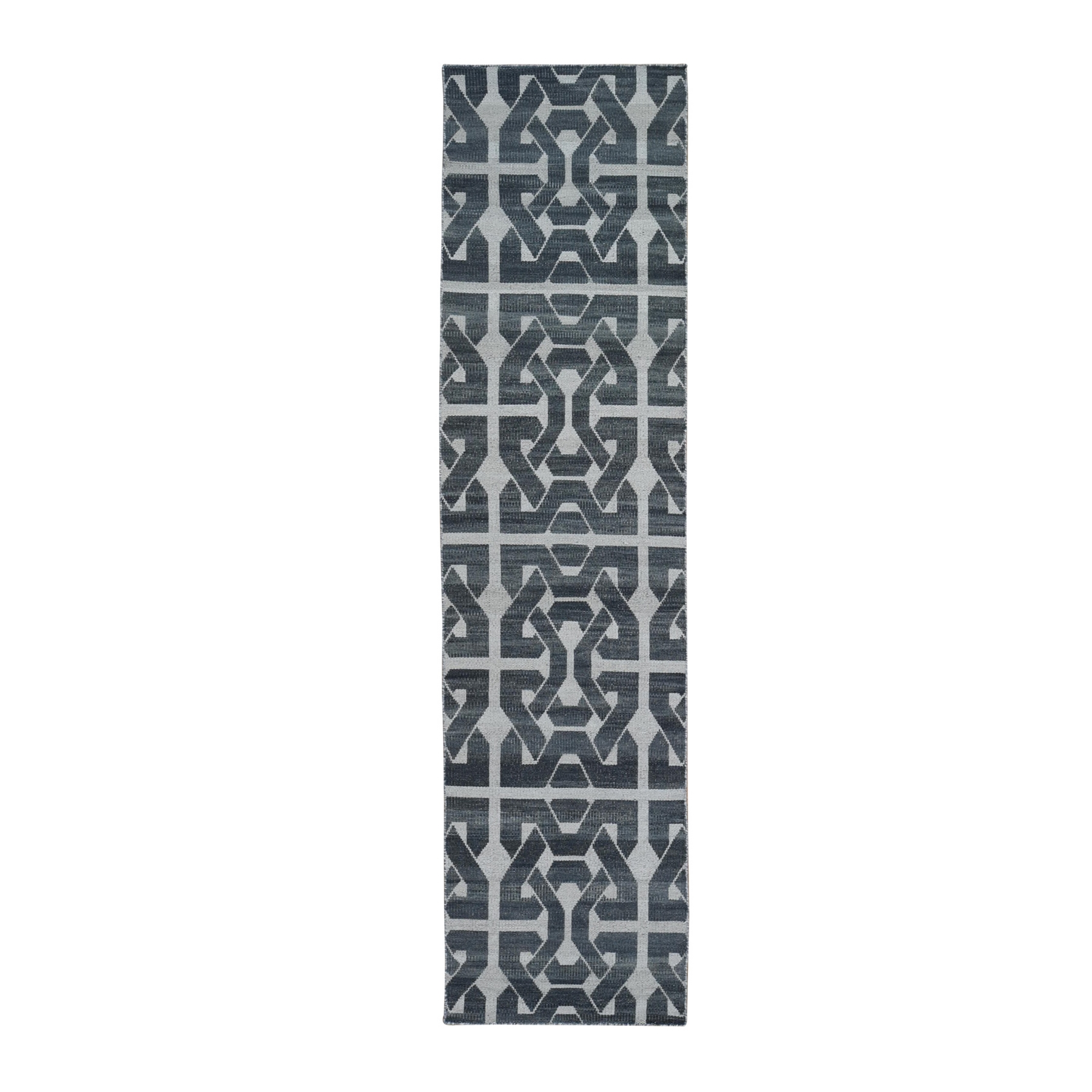 Fine Kilim Collection Hand Woven Grey Rug No: 1132196