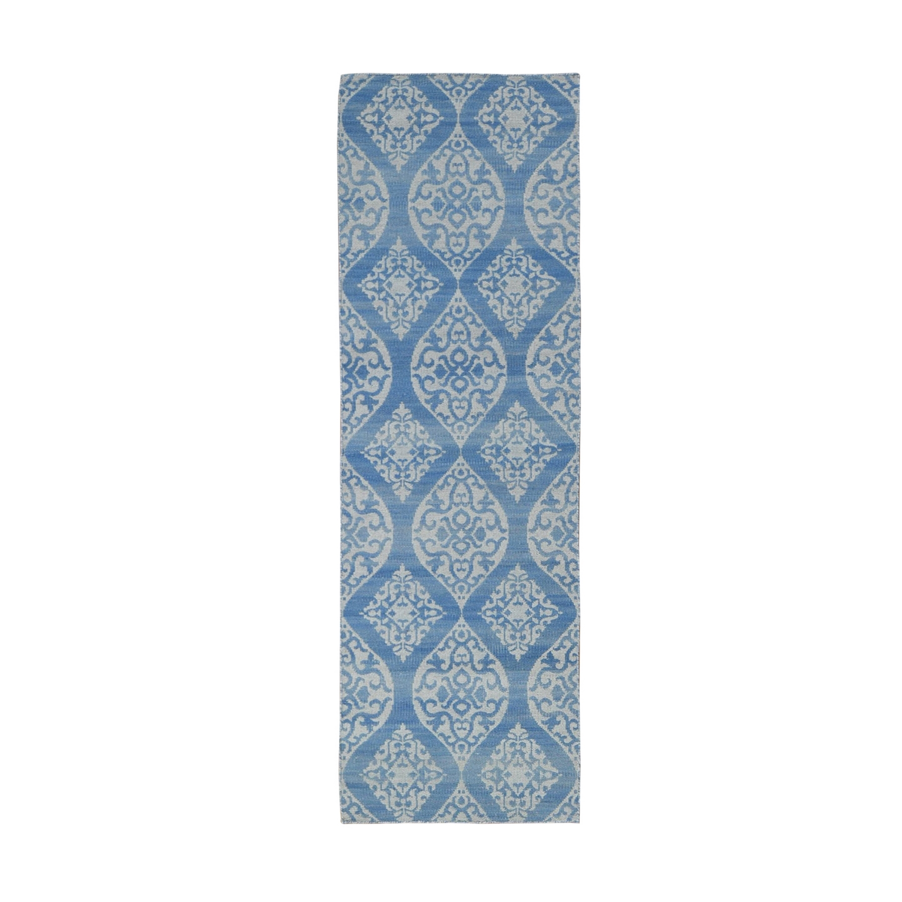 Fine Kilim Collection Hand Woven Blue Rug No: 1132198
