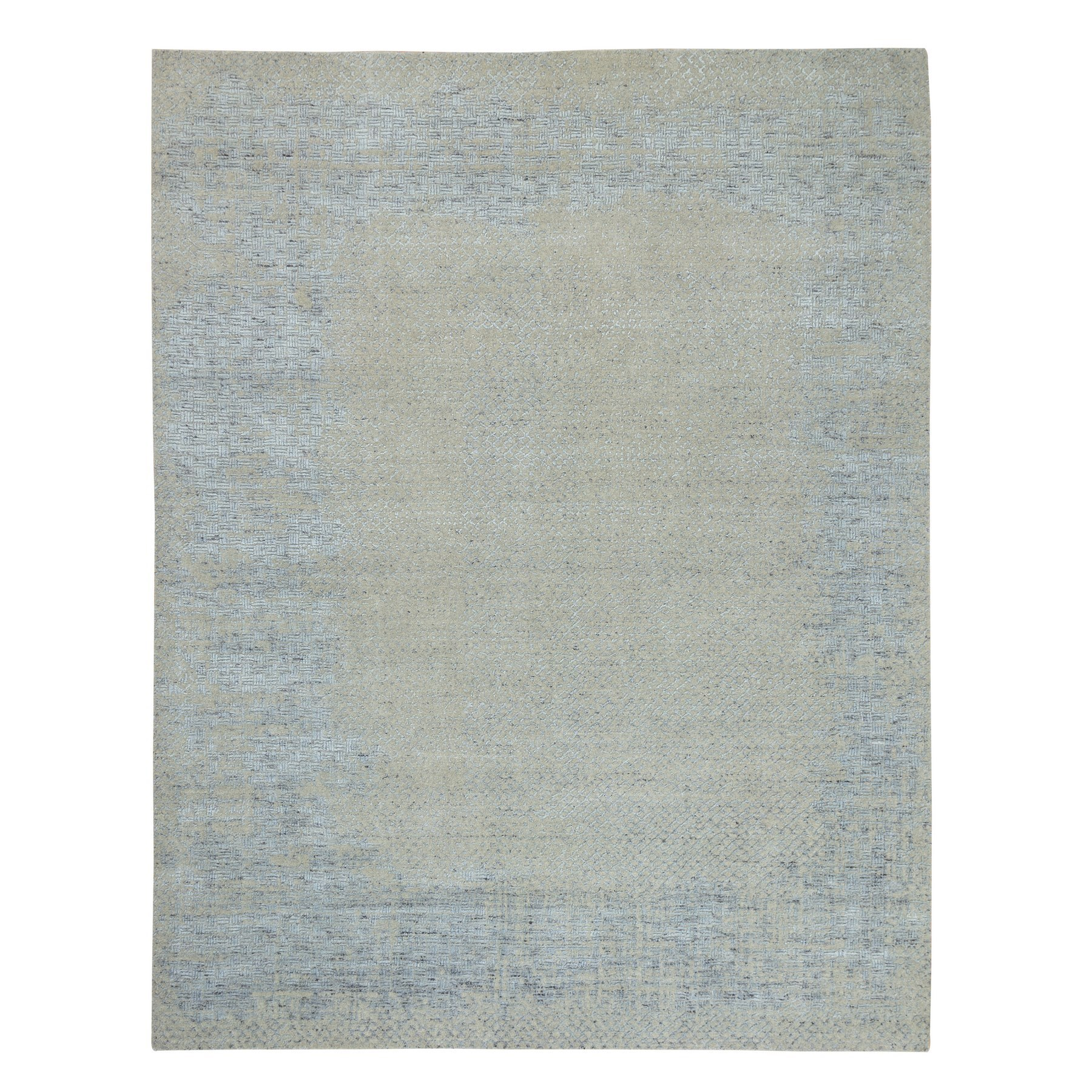Modern Collection Hand Loomed Grey Rug No: 1124120