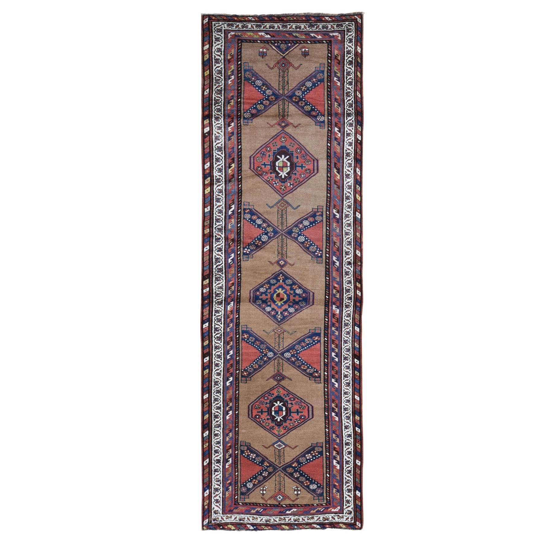 Antique Collection Hand Knotted Brown Rug No: 1132370