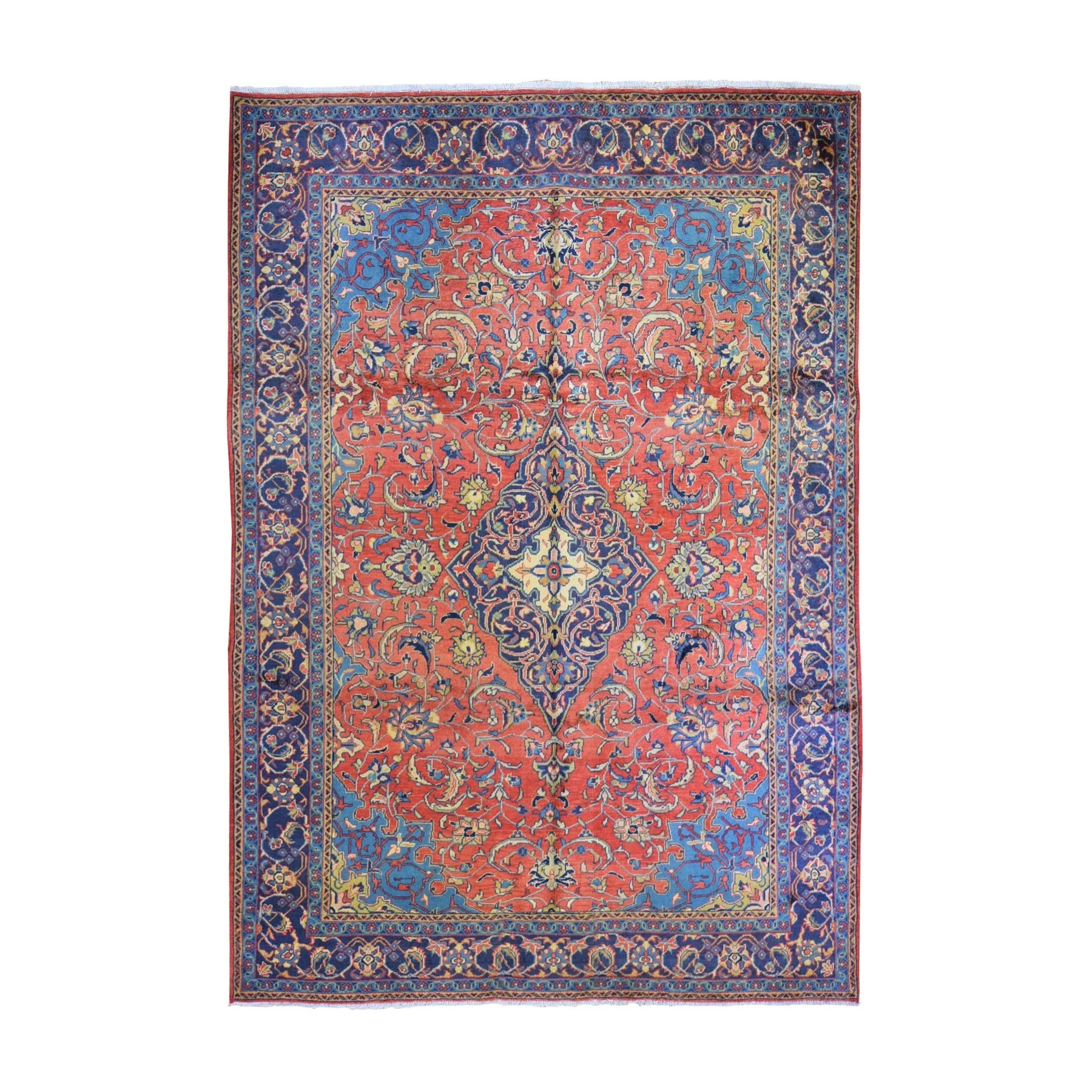 Classic Persian Collection Hand Knotted Red Rug No: 1132462