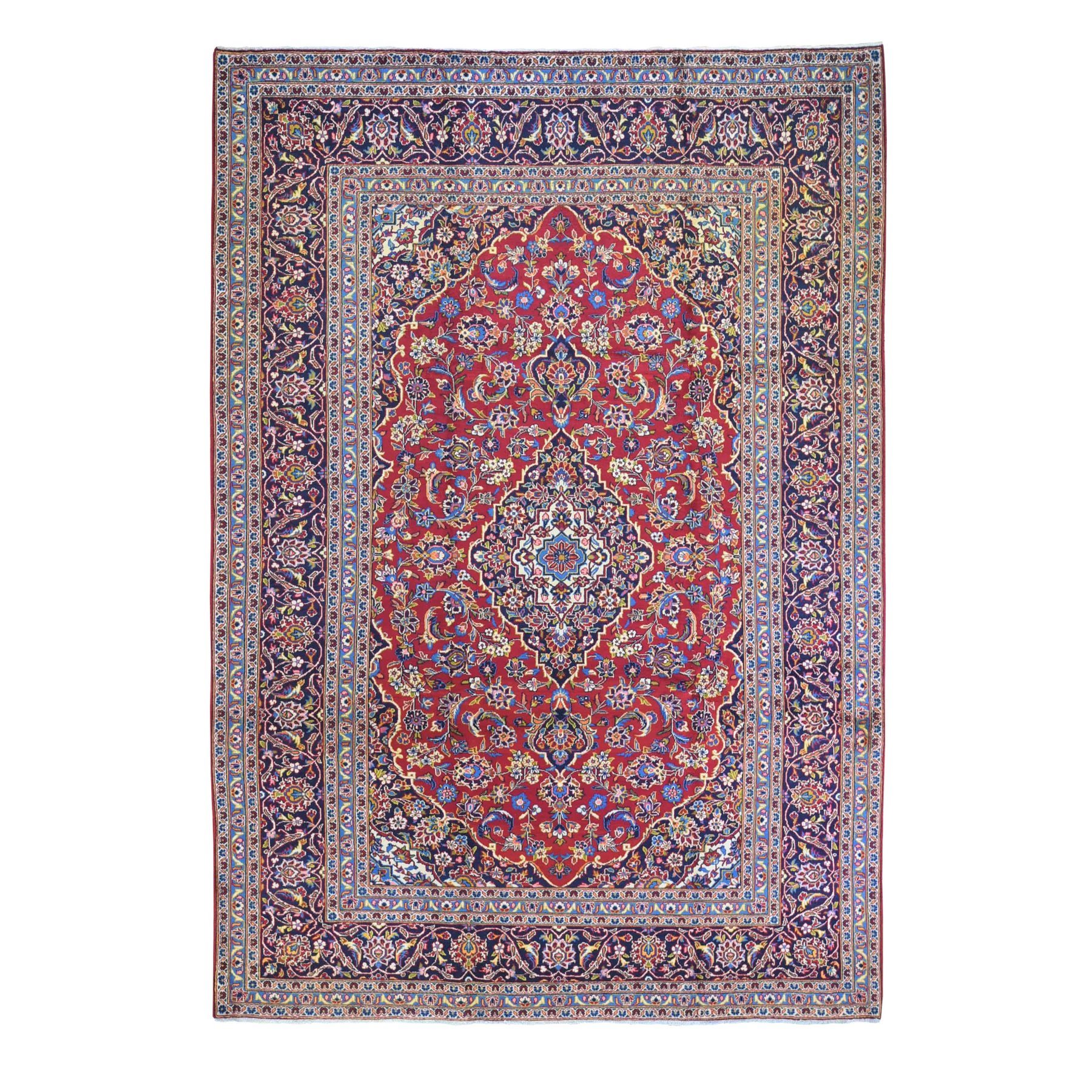 Classic Persian Collection Hand Knotted Red Rug No: 1132464