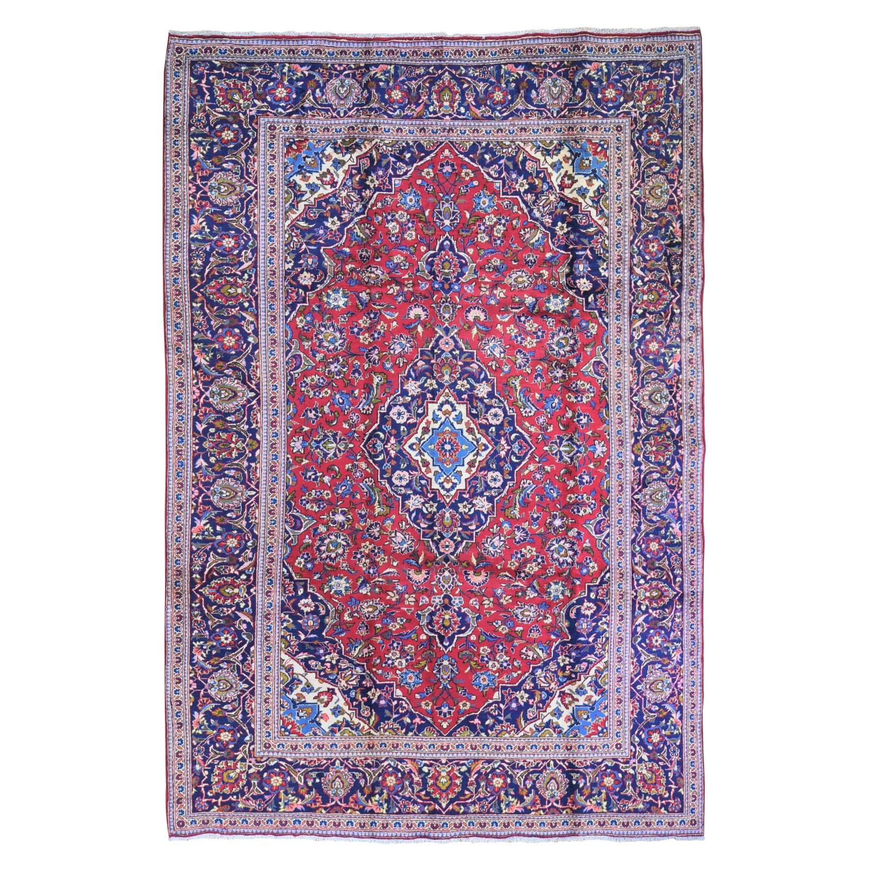 Classic Persian Collection Hand Knotted Red Rug No: 1132466