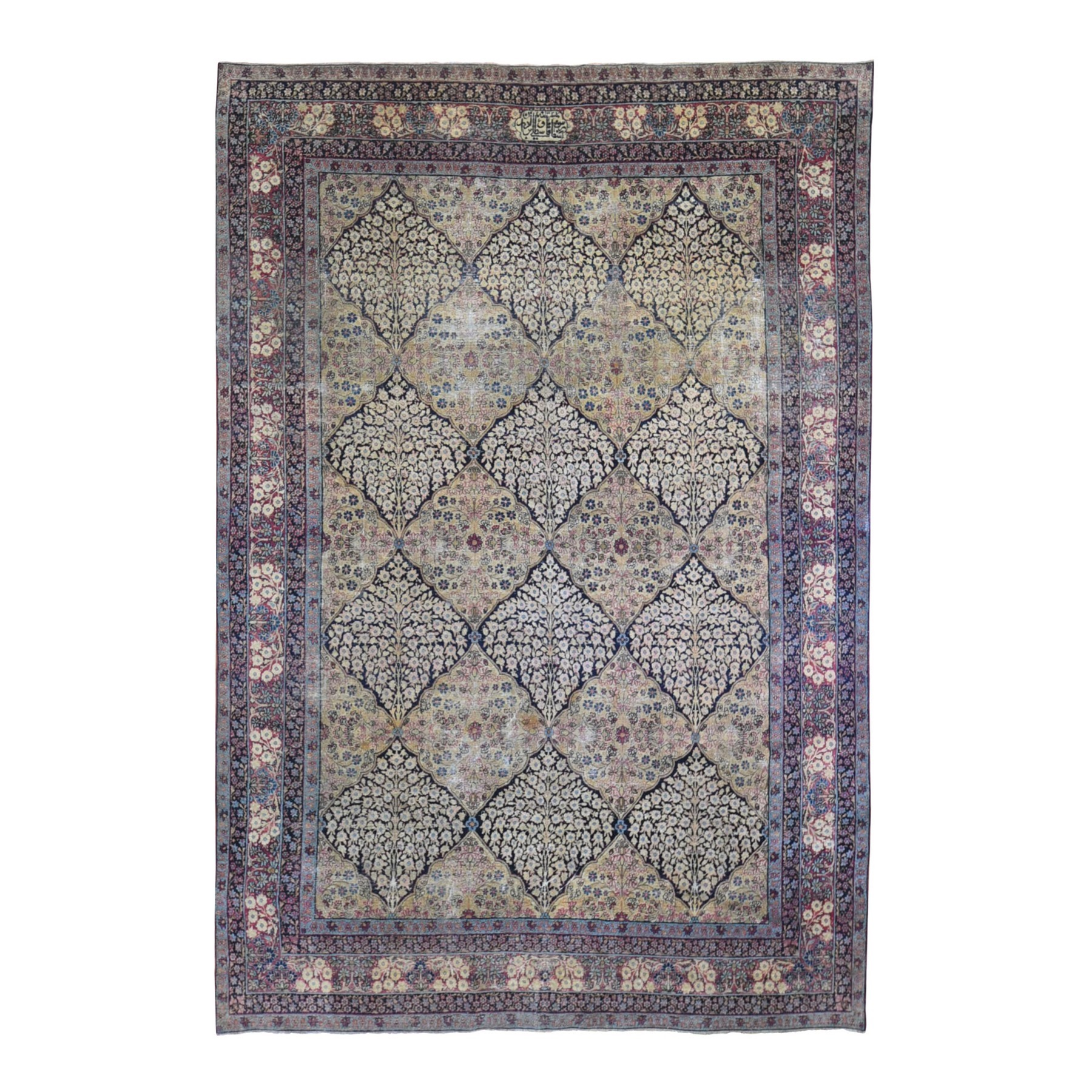 Antique Collection Hand Knotted Beige Rug No: 1132518