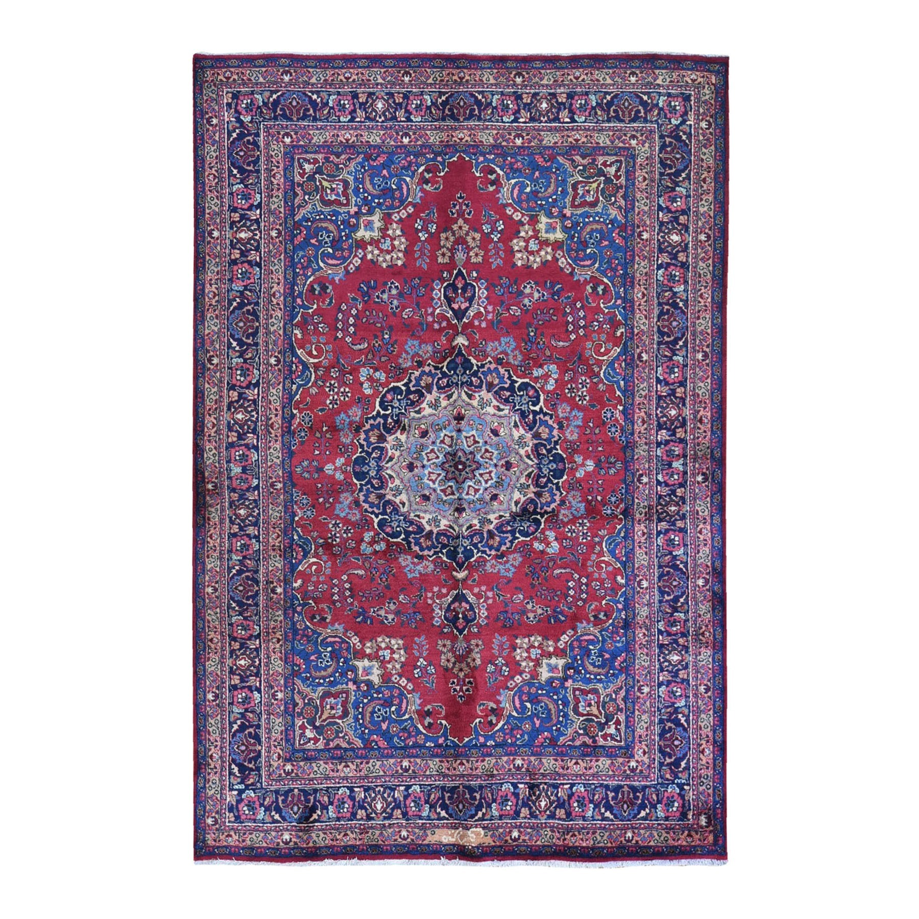 Classic Persian Collection Hand Knotted Red Rug No: 1132474