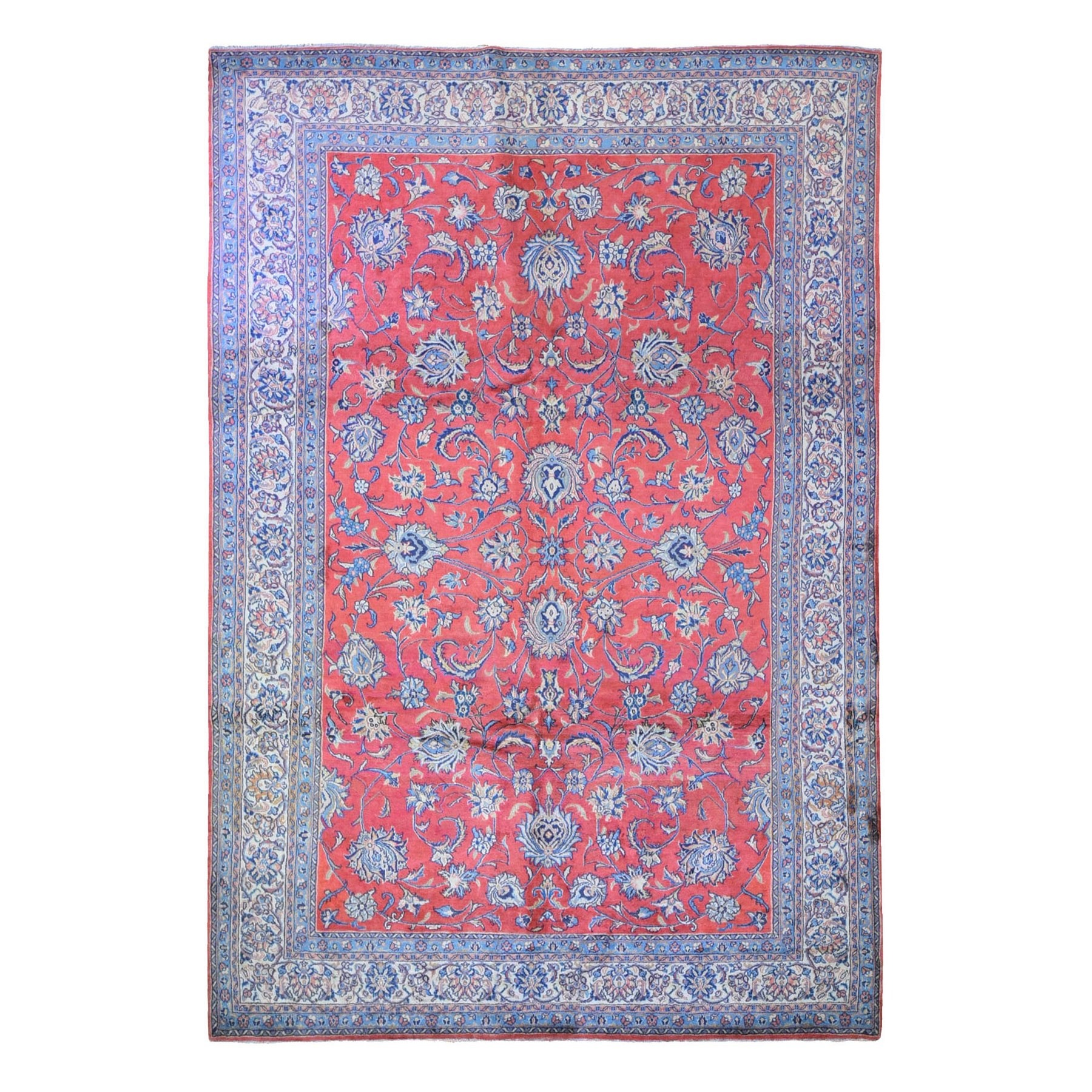 Classic Persian Collection Hand Knotted Red Rug No: 1132468