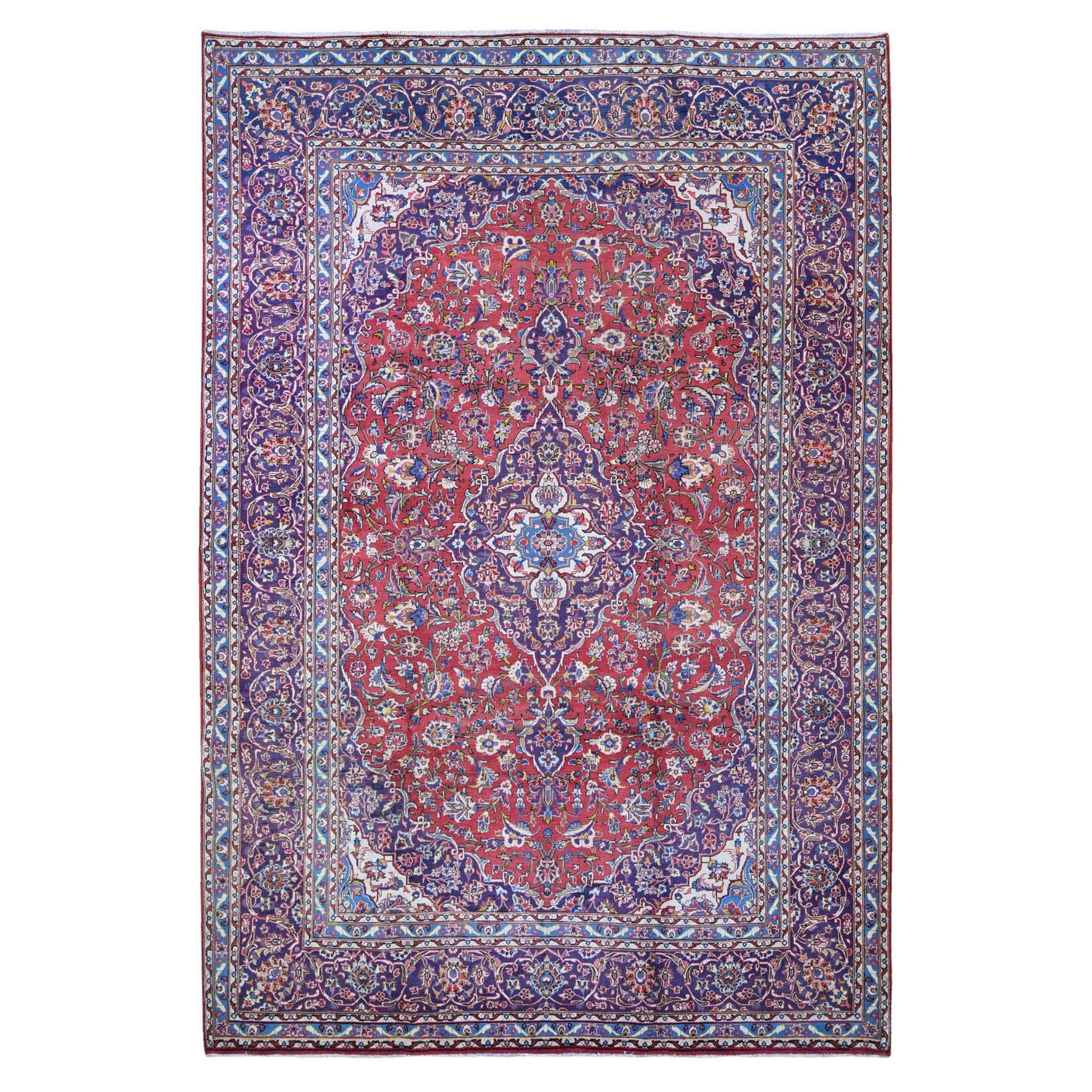 Classic Persian Collection Hand Knotted Red Rug No: 1132476