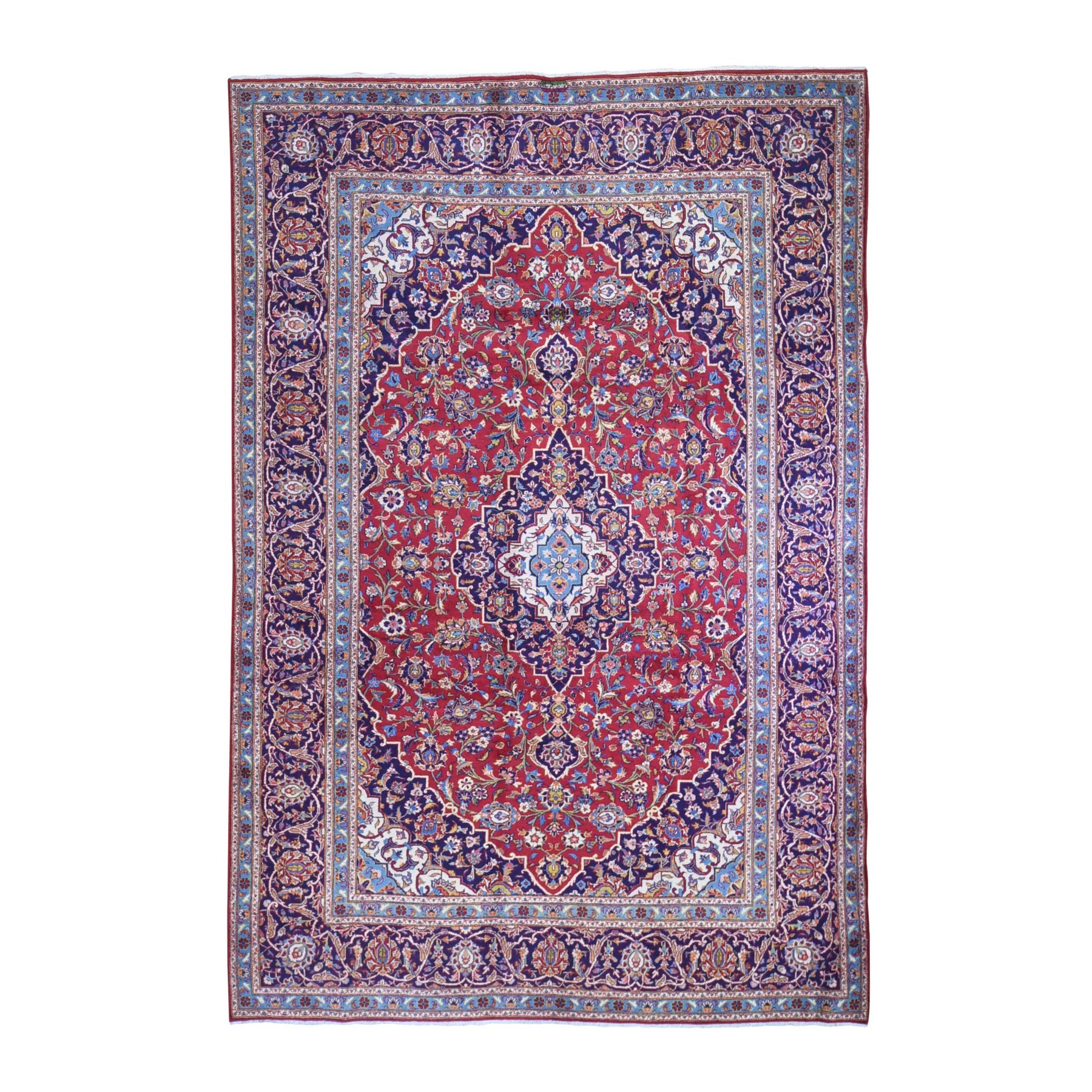 Classic Persian Collection Hand Knotted Red Rug No: 1132512