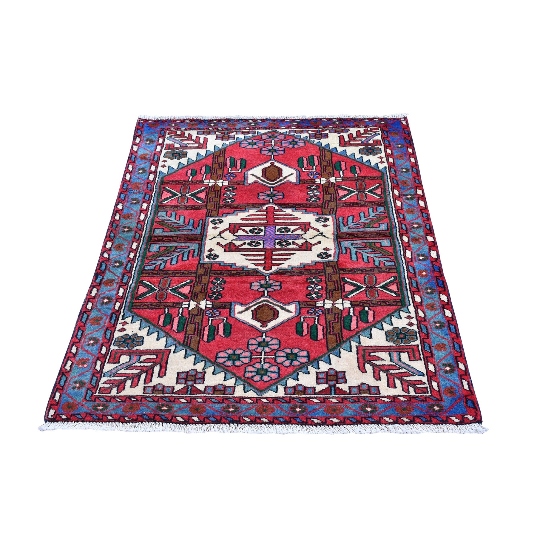 Classic Persian Collection Hand Knotted Pink Rug No: 1132636