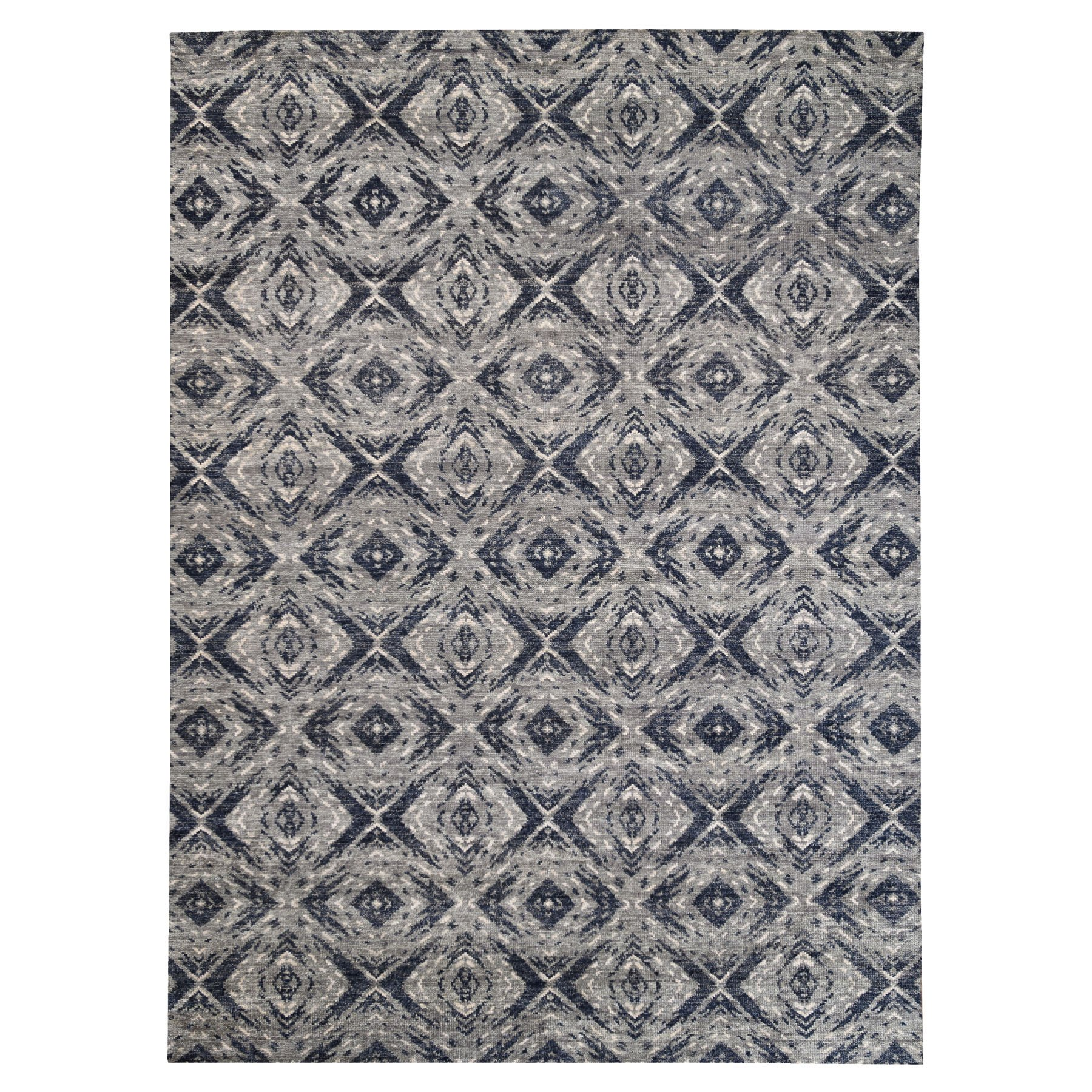 Nomadic And Village Collection Hand Knotted Black Rug No: 1124400