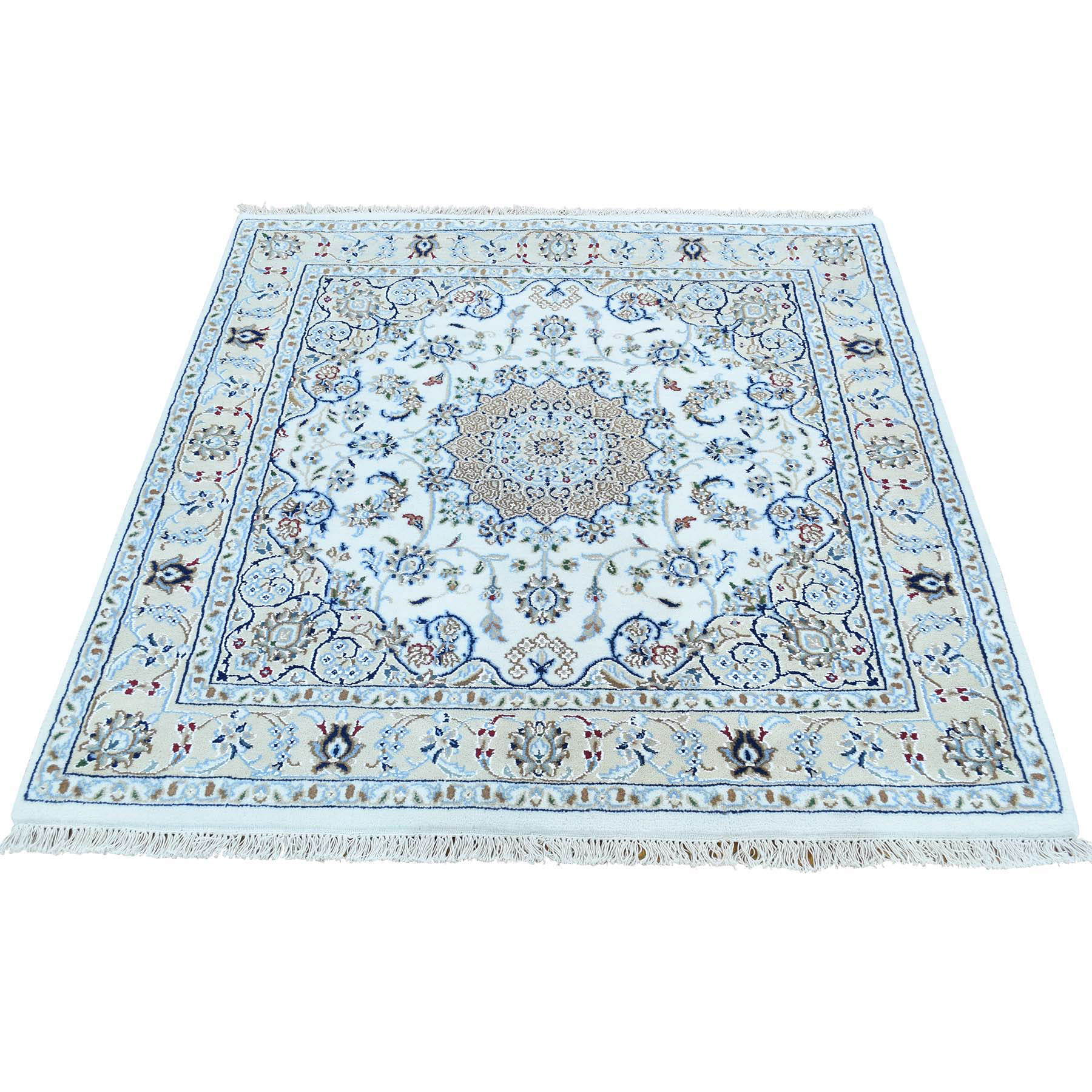 Pirniakan Collection Hand Knotted Ivory Rug No: 170494