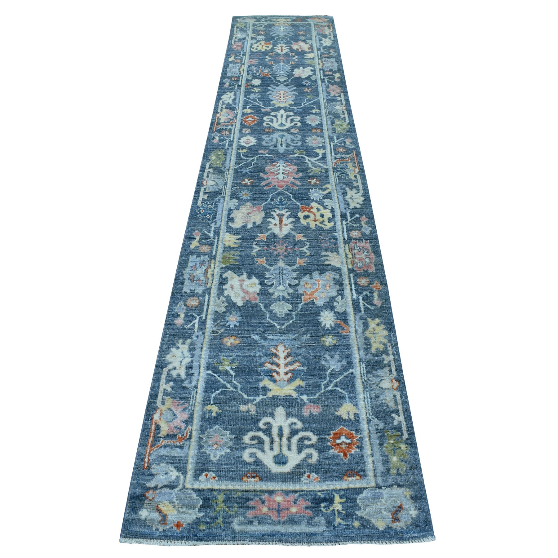Agra And Turkish Collection Hand Knotted Grey Rug No: 1112696
