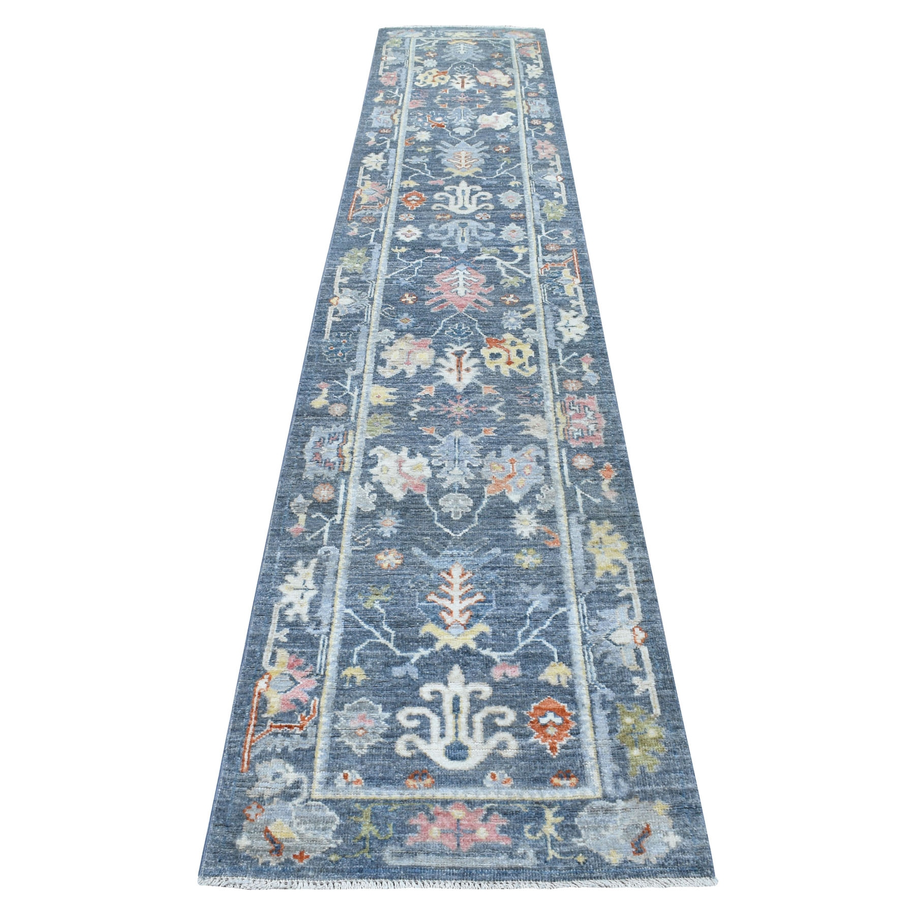 Agra And Turkish Collection Hand Knotted Grey Rug No: 1112676