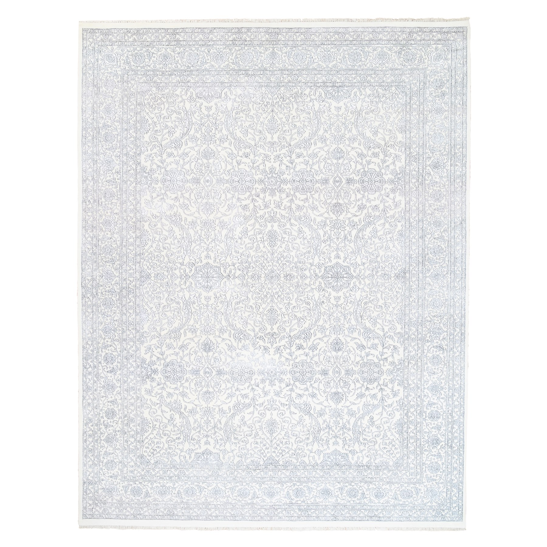 Pirniakan Collection Hand Knotted Ivory Rug No: 1124496