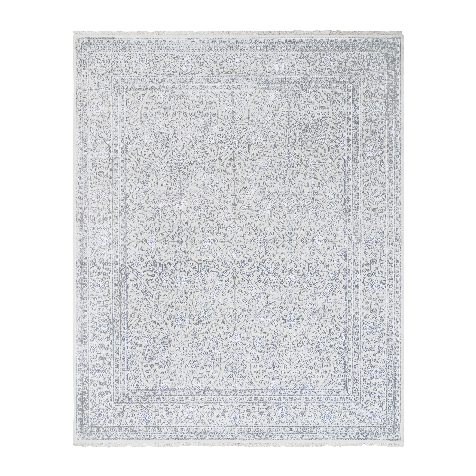 Pirniakan Collection Hand Knotted Ivory Rug No: 1124494