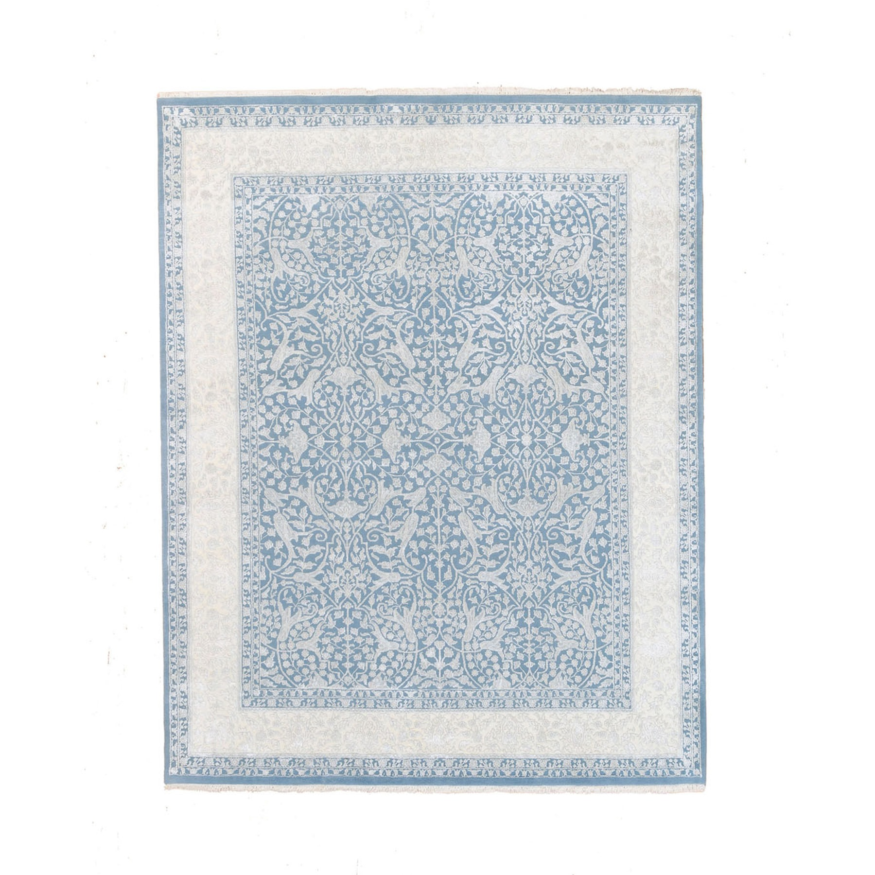 Pirniakan Collection Hand Knotted Blue Rug No: 1124488