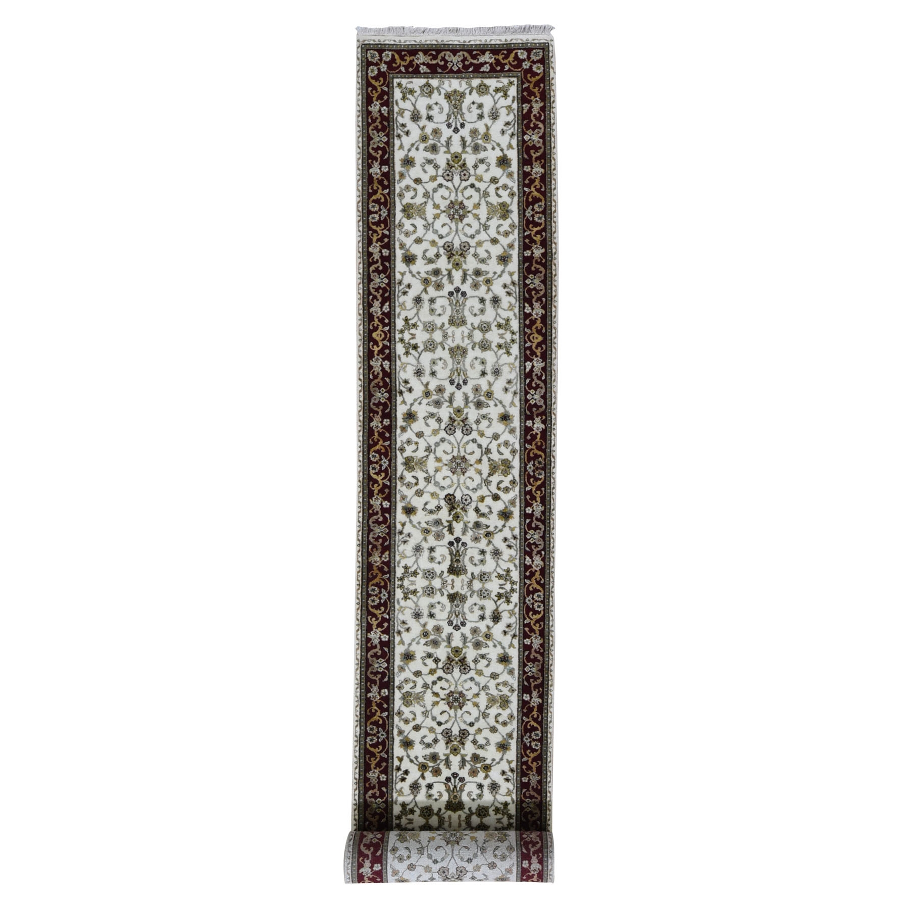 Pahlavi Collection Hand Knotted Ivory Rug No: 1118042
