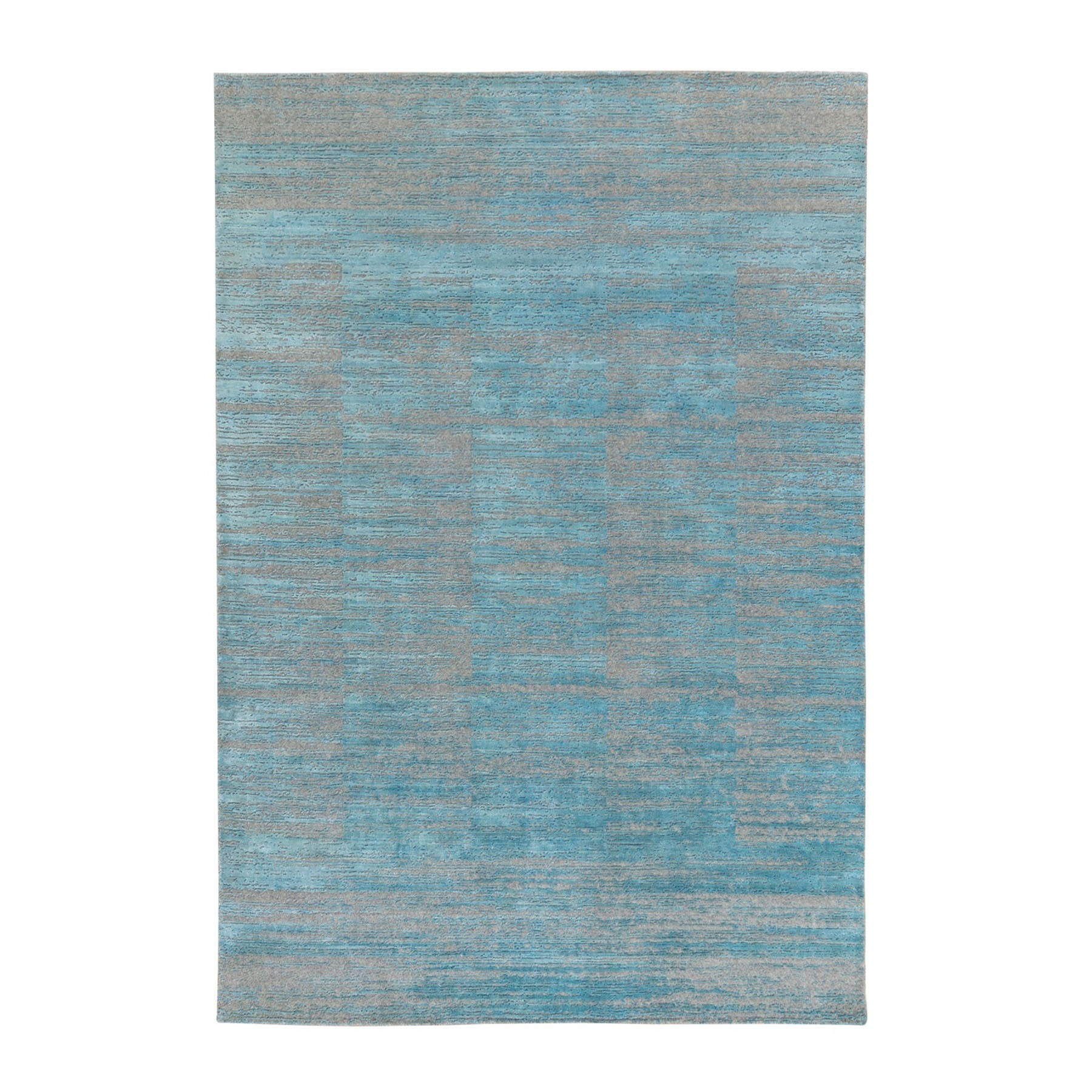 Modern Collection Hand Loomed Blue Rug No: 1124192
