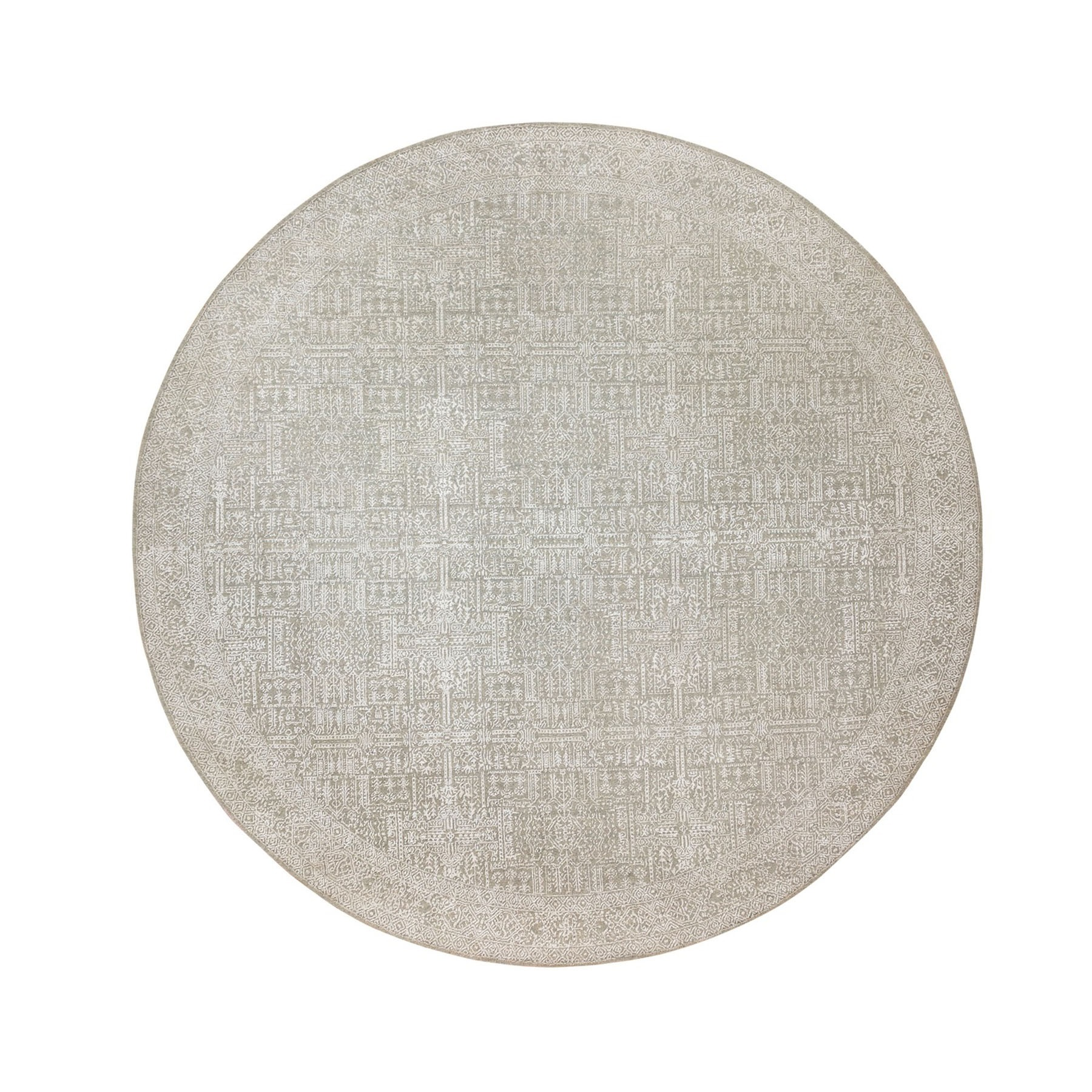 Modern Collection Hand Loomed Ivory Rug No: 1124238