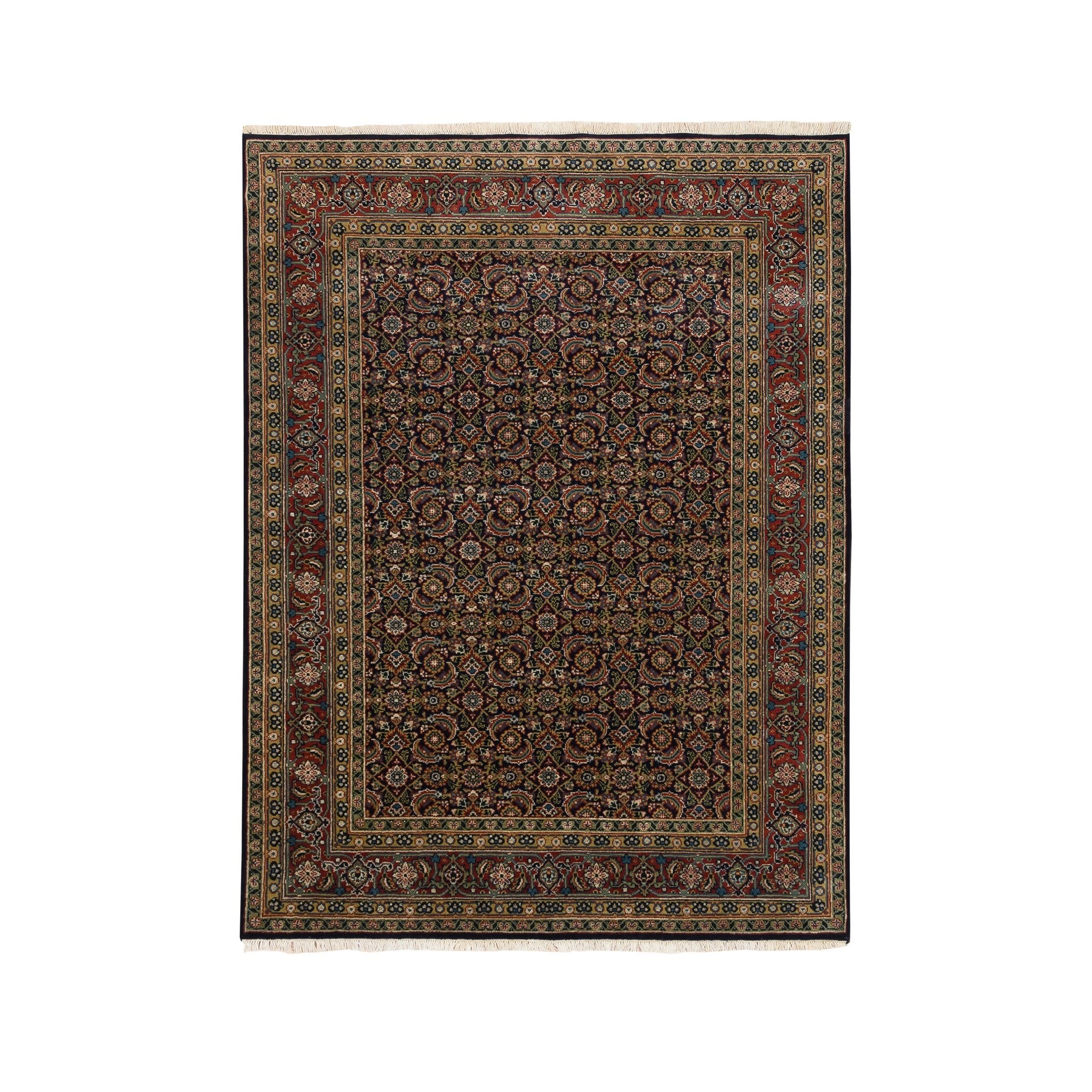 Pirniakan Collection Hand Knotted Blue Rug No: 1124686