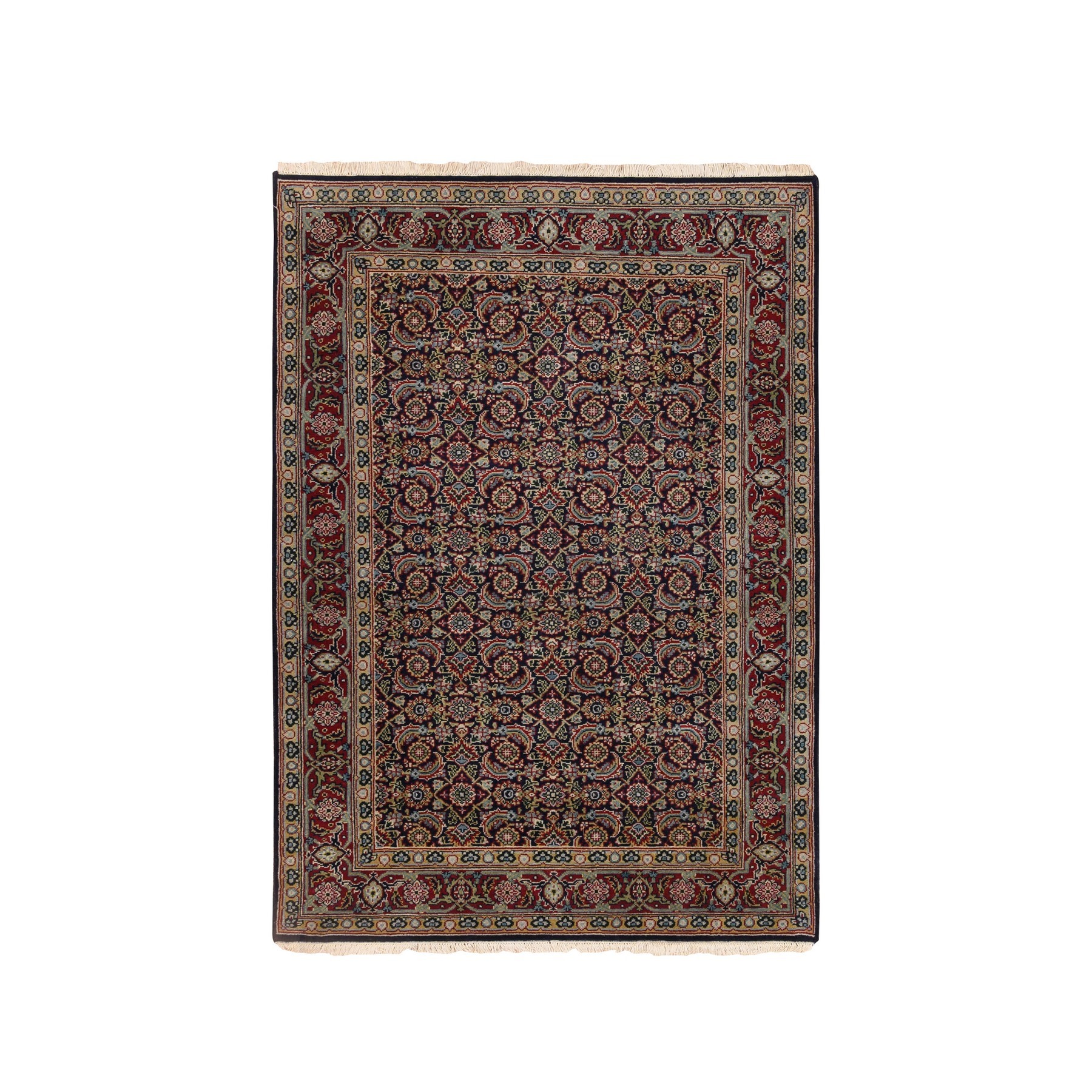 Pirniakan Collection Hand Knotted Blue Rug No: 1124688
