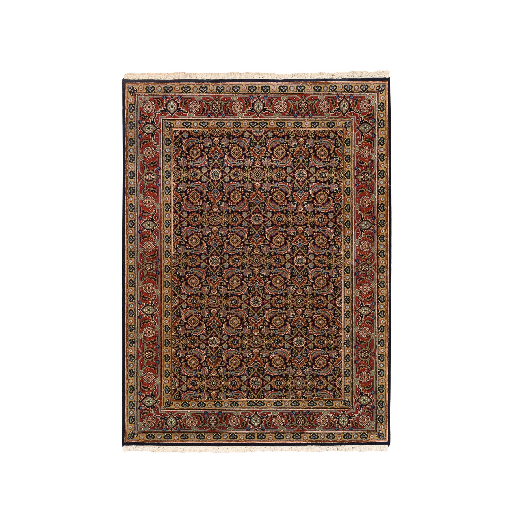 Pirniakan Collection Hand Knotted Blue Rug No: 1124692